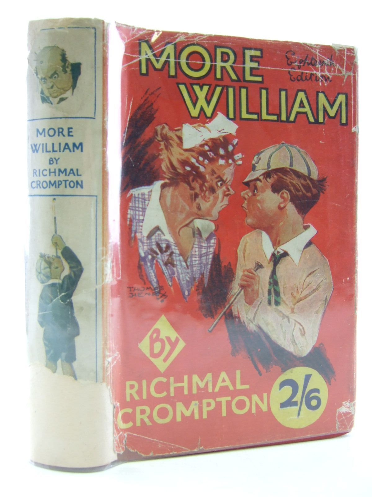Photo of MORE WILLIAM written by Crompton, Richmal illustrated by Henry, Thomas published by George Newnes Limited (STOCK CODE: 2109202)  for sale by Stella & Rose's Books