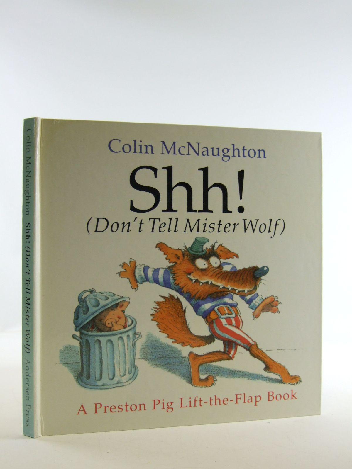 Photo of SHH! (DON'T TELL MISTER WOLF) written by McNaughton, Colin illustrated by McNaughton, Colin published by Andersen Press (STOCK CODE: 2109258)  for sale by Stella & Rose's Books