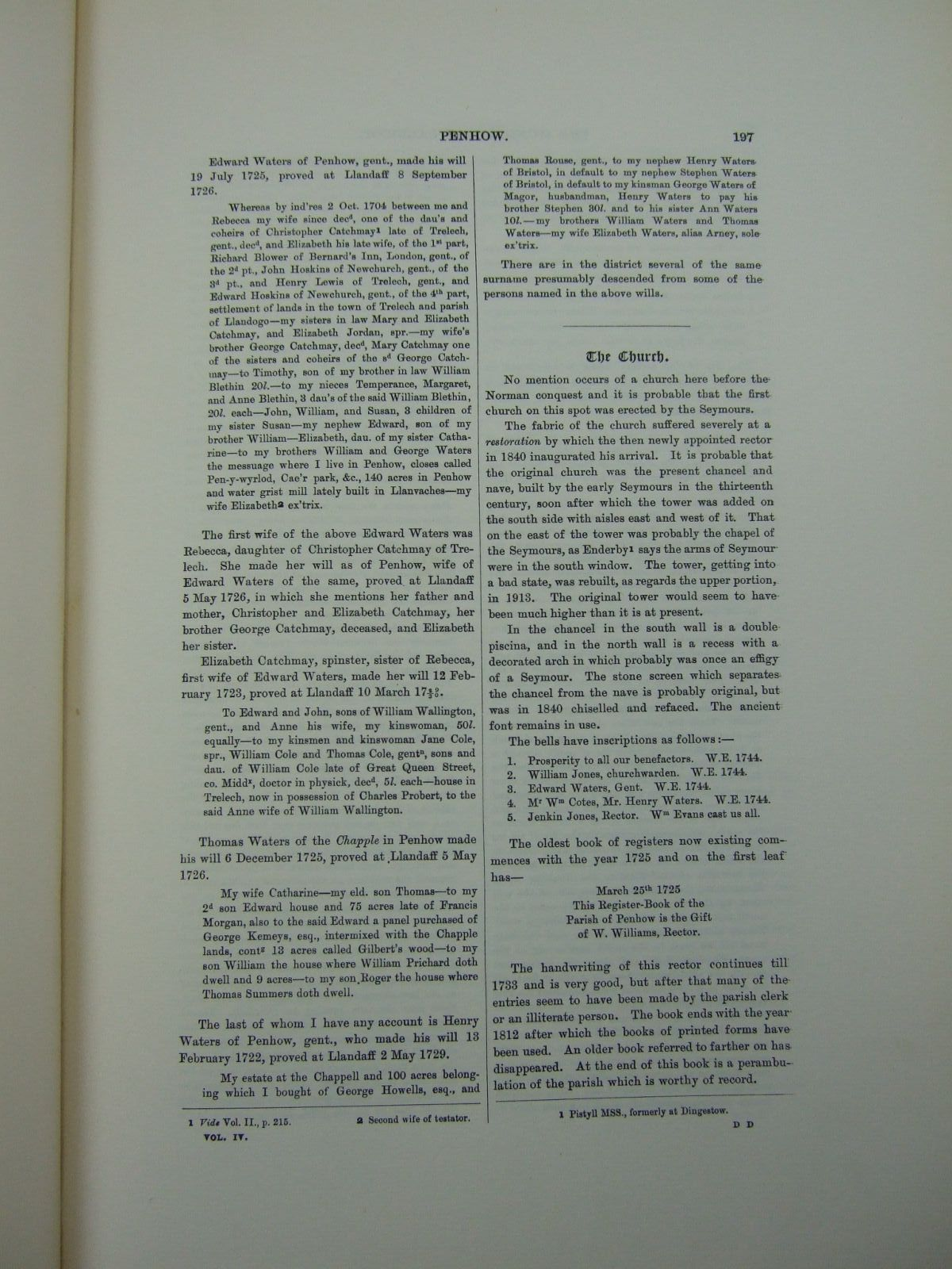 Photo of A HISTORY OF MONMOUTHSHIRE HUNDRED OF CALDICOT PART II OF VOLUME IV written by Bradney, Joseph published by Mitchell Hughes and Clarke (STOCK CODE: 2109438)  for sale by Stella & Rose's Books