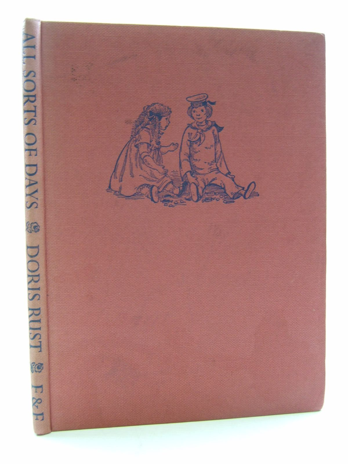 Photo of ALL SORTS OF DAYS written by Rust, Doris illustrated by Hughes, Shirley published by Faber & Faber Ltd. (STOCK CODE: 2109529)  for sale by Stella & Rose's Books