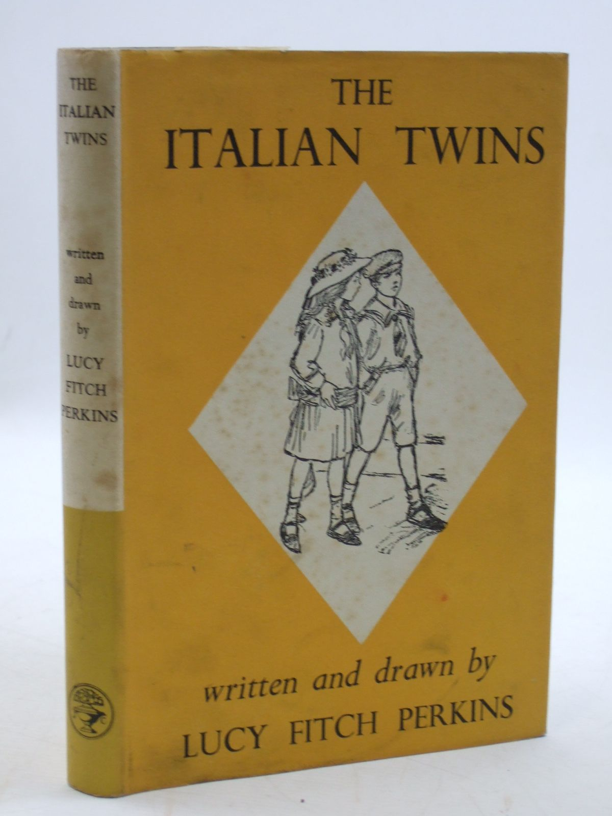 Photo of THE ITALIAN TWINS written by Perkins, Lucy Fitch illustrated by Perkins, Lucy Fitch published by Jonathan Cape (STOCK CODE: 2109948)  for sale by Stella & Rose's Books