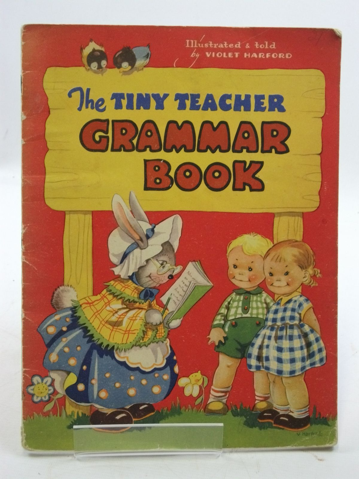 Photo of THE TINY TEACHER GRAMMAR BOOK written by Harford, Violet illustrated by Harford, Violet (STOCK CODE: 2109978)  for sale by Stella & Rose's Books