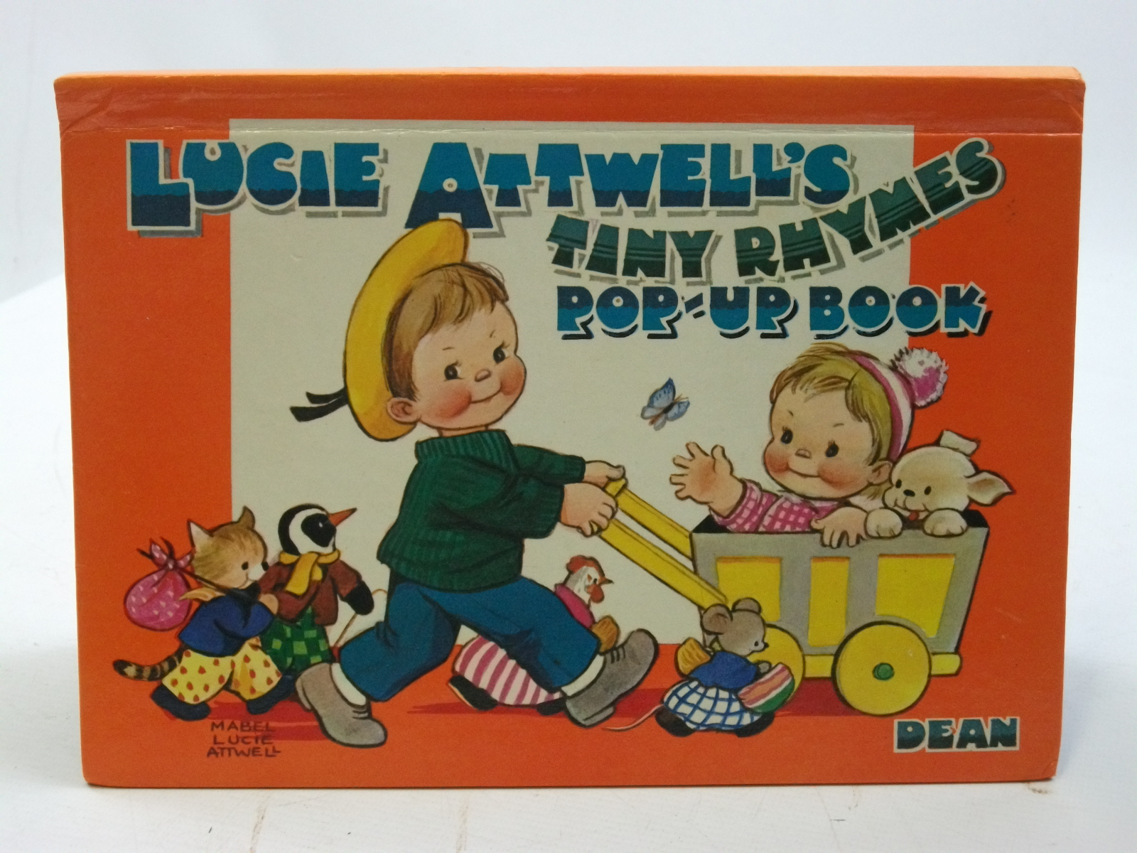 Photo of LUCIE ATTWELL'S TINY RHYMES POP-UP BOOK illustrated by Attwell, Mabel Lucie published by Dean & Son Ltd. (STOCK CODE: 2109984)  for sale by Stella & Rose's Books