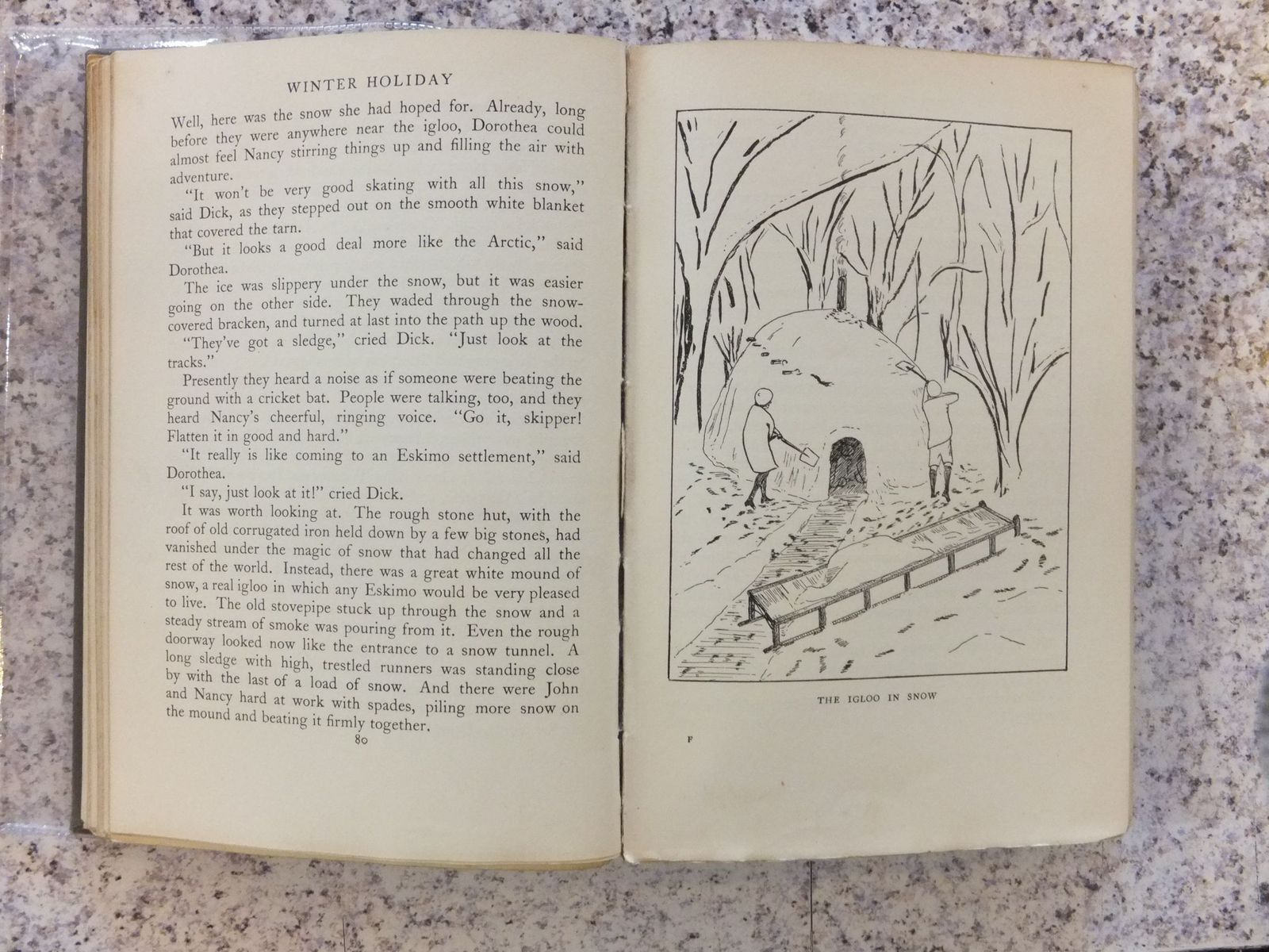 Photo of WINTER HOLIDAY written by Ransome, Arthur illustrated by Ransome, Arthur published by Jonathan Cape (STOCK CODE: 2110017)  for sale by Stella & Rose's Books
