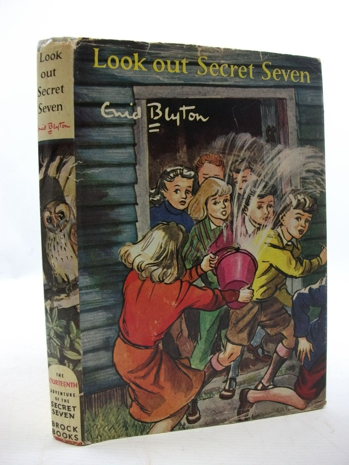 Photo of LOOK OUT SECRET SEVEN written by Blyton, Enid illustrated by Sharrocks, Burgess published by Brockhampton Press (STOCK CODE: 2110041)  for sale by Stella & Rose's Books