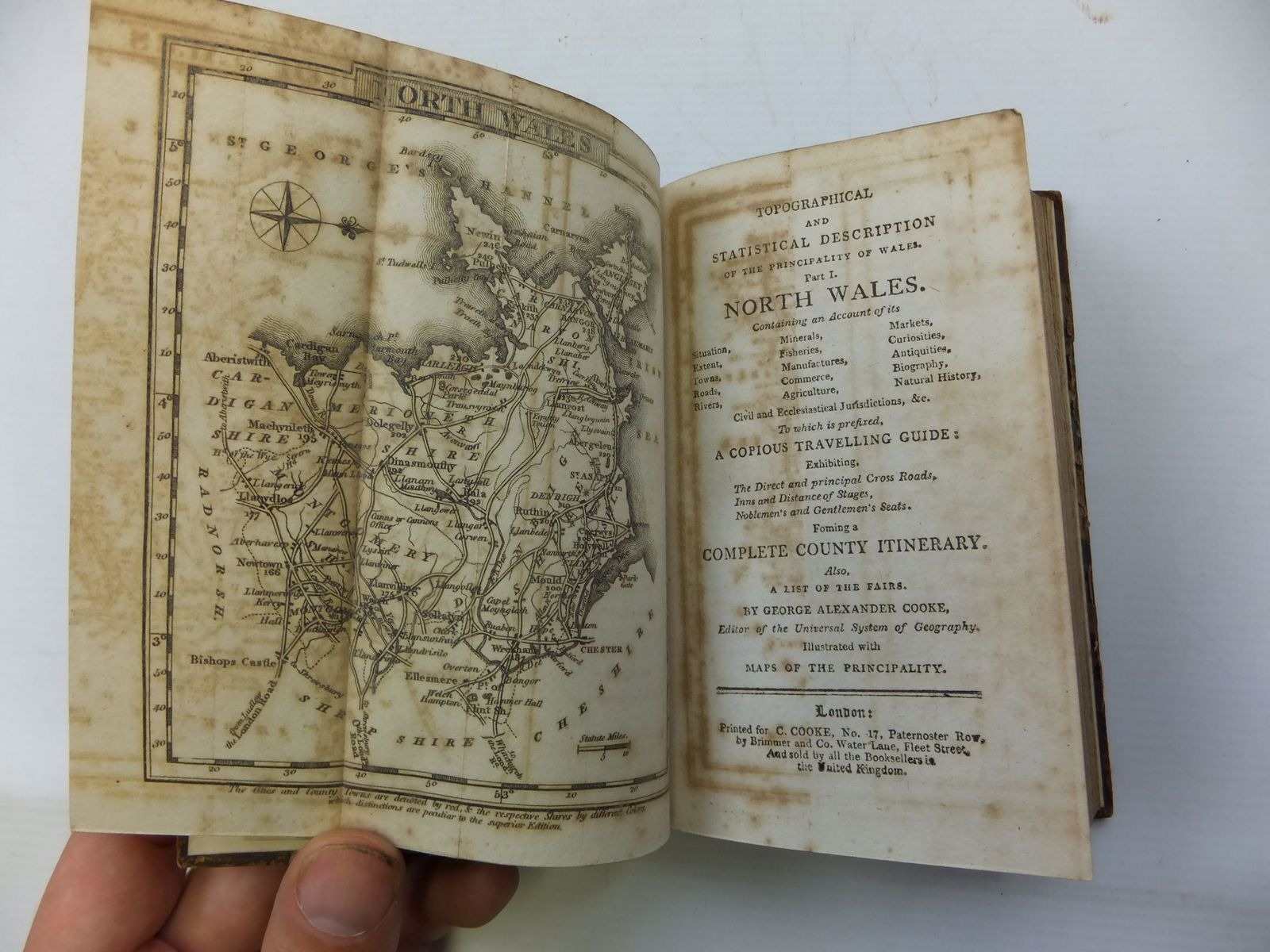 Photo of COOKE'S TOPOGRAPHY written by Cooke, George Alexander published by C. Cooke (STOCK CODE: 2110102)  for sale by Stella & Rose's Books