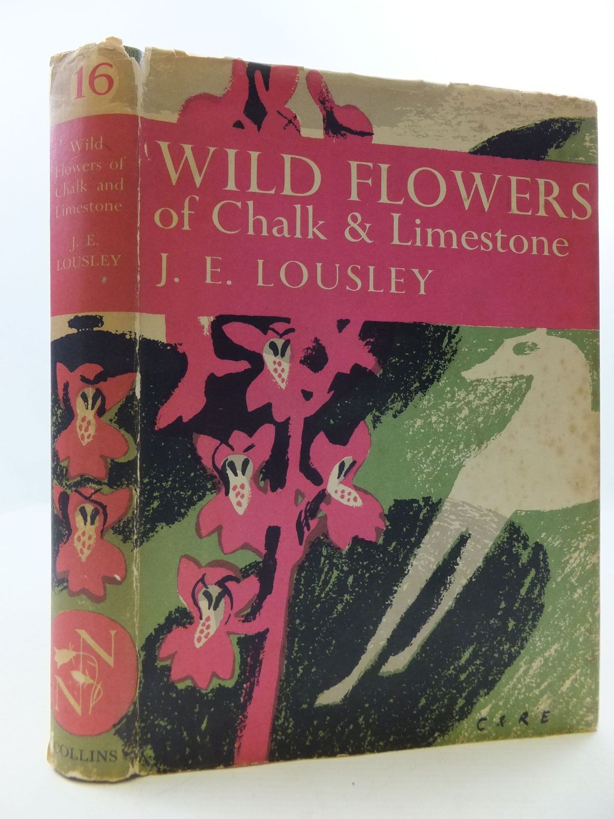 Photo of WILD FLOWERS OF CHALK & LIMESTONE (NN 16) written by Lousley, J.E. published by Collins (STOCK CODE: 2110229)  for sale by Stella & Rose's Books