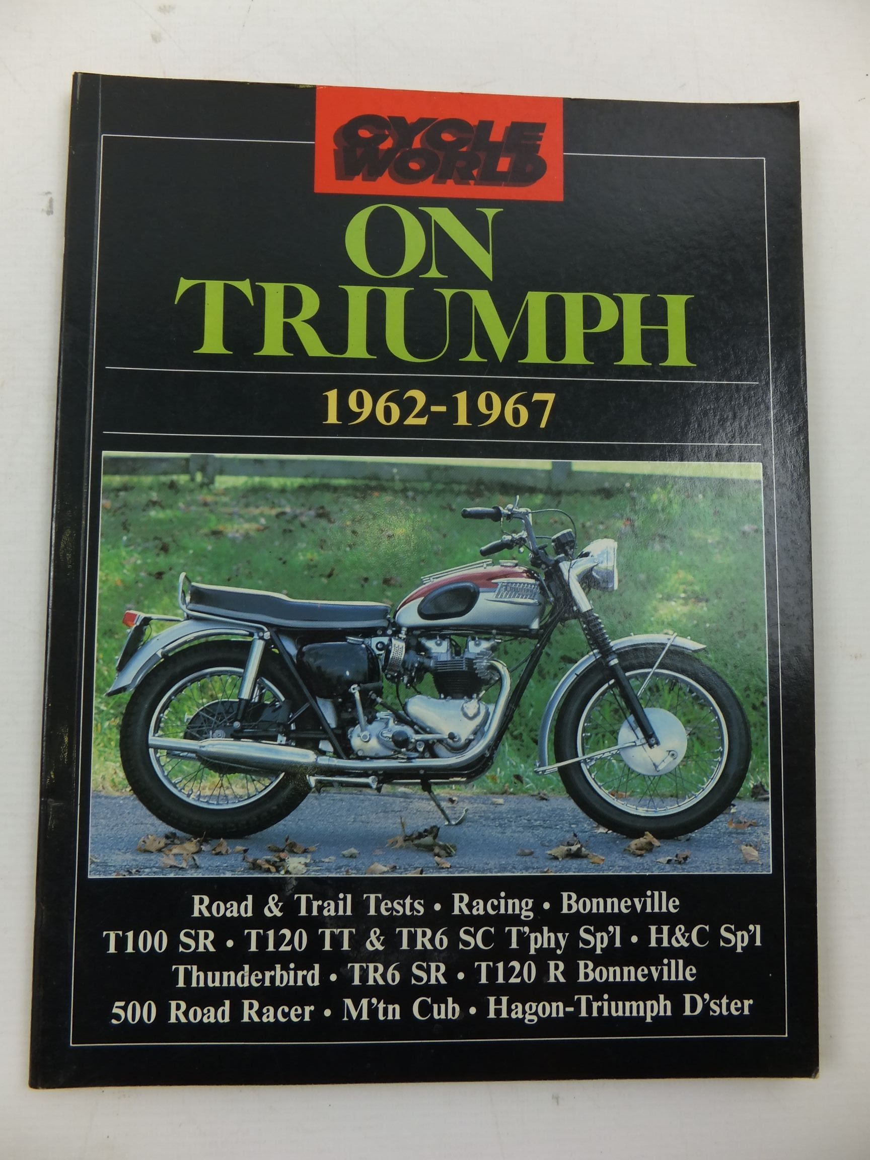 Photo of CYCLE WORLD ON TRIUMPH 1962-1967- Stock Number: 2110303