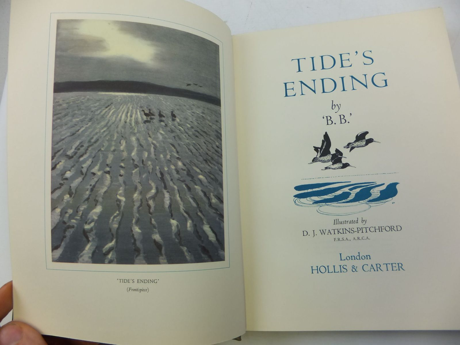 Photo of TIDE'S ENDING written by BB,  illustrated by BB,  published by Hollis & Carter (STOCK CODE: 2110403)  for sale by Stella & Rose's Books