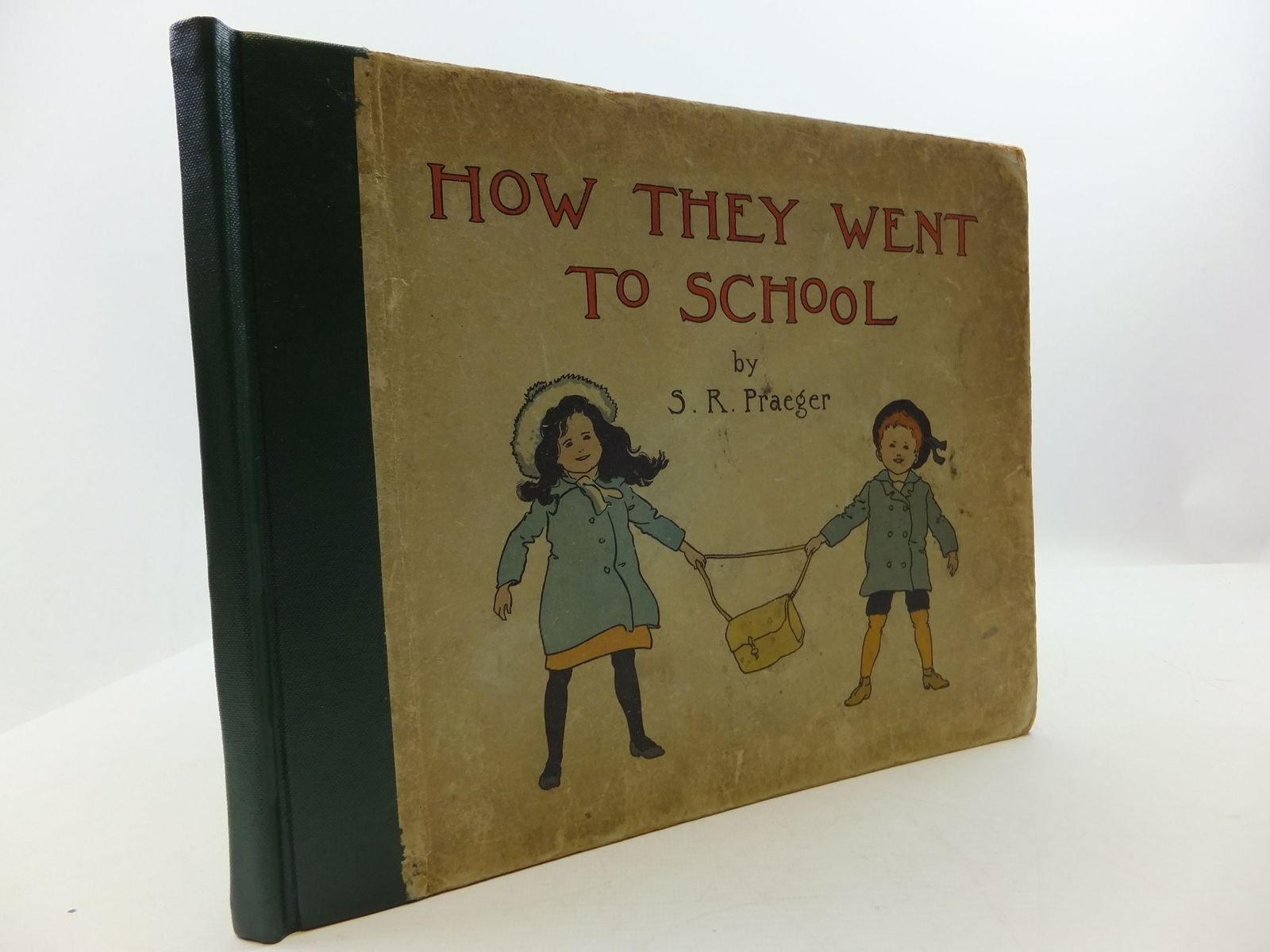 Photo of HOW THEY WENT TO SCHOOL written by Praeger, S. Rosamond illustrated by Praeger, S. Rosamond published by Blackie & Son Ltd. (STOCK CODE: 2110405)  for sale by Stella & Rose's Books