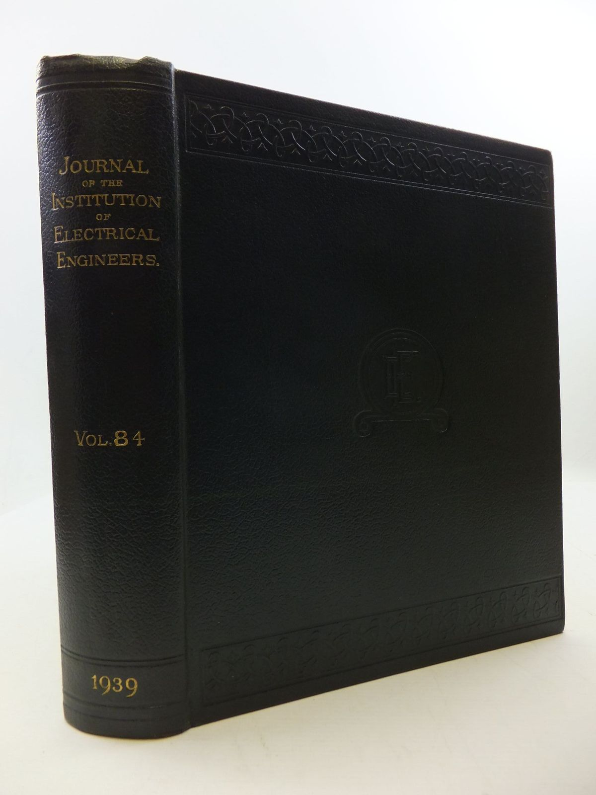 Photo of THE JOURNAL OF THE INSTITUTION OF ELECTRICAL ENGINEERS VOL. 84- Stock Number: 2110411