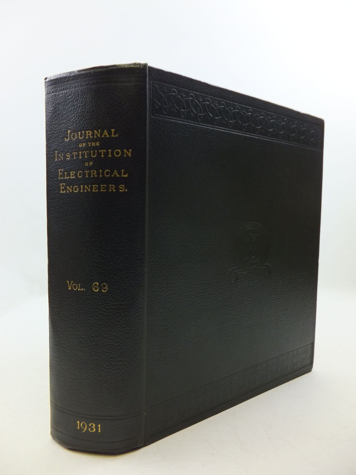 Photo of THE JOURNAL OF THE INSTITUTION OF ELECTRICAL ENGINEERS VOL. 69- Stock Number: 2110418