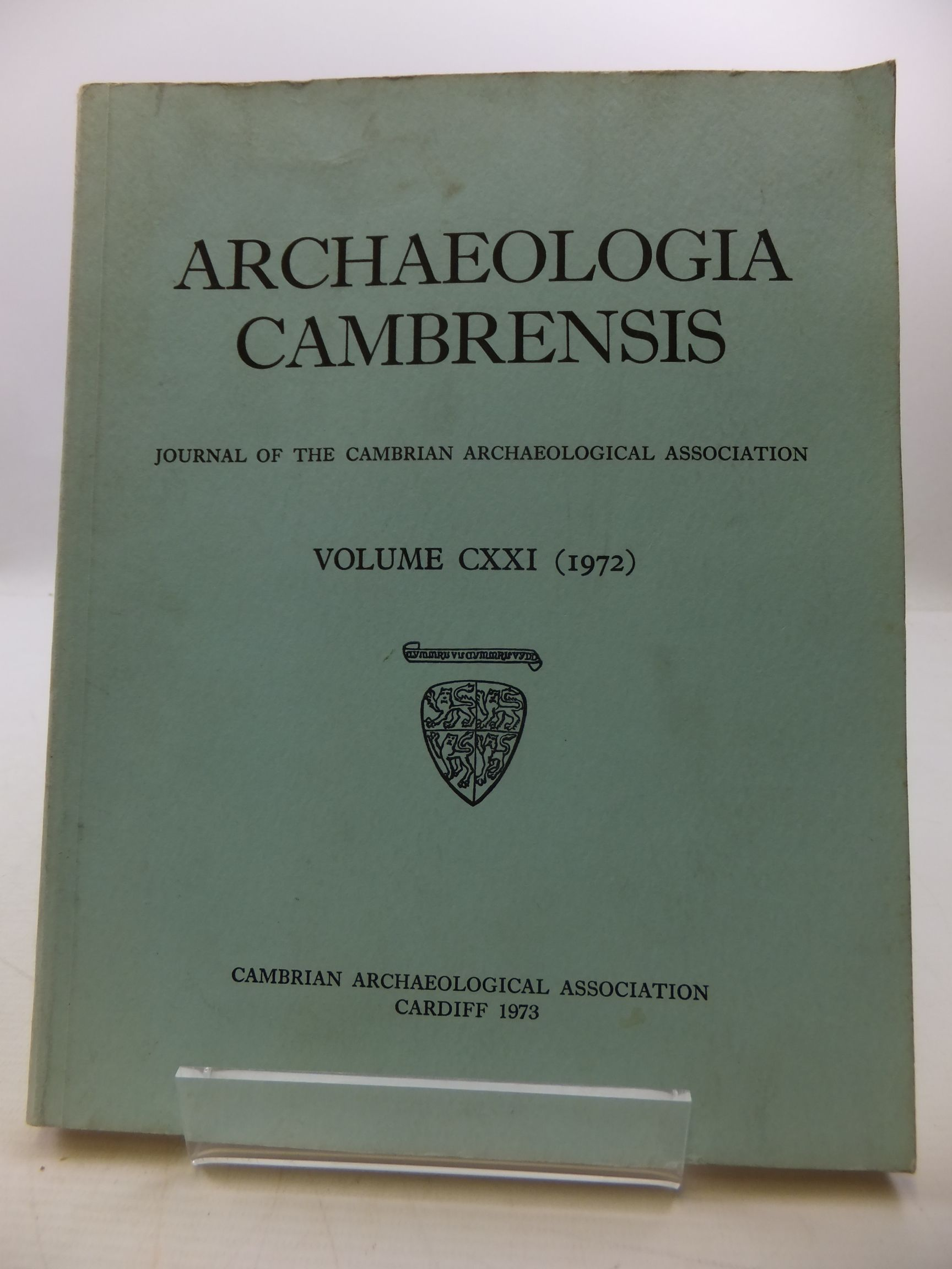 Photo of ARCHAEOLOGIA CAMBRENSIS VOL CXXI published by Cambrian Archaeological Association (STOCK CODE: 2110471)  for sale by Stella & Rose's Books