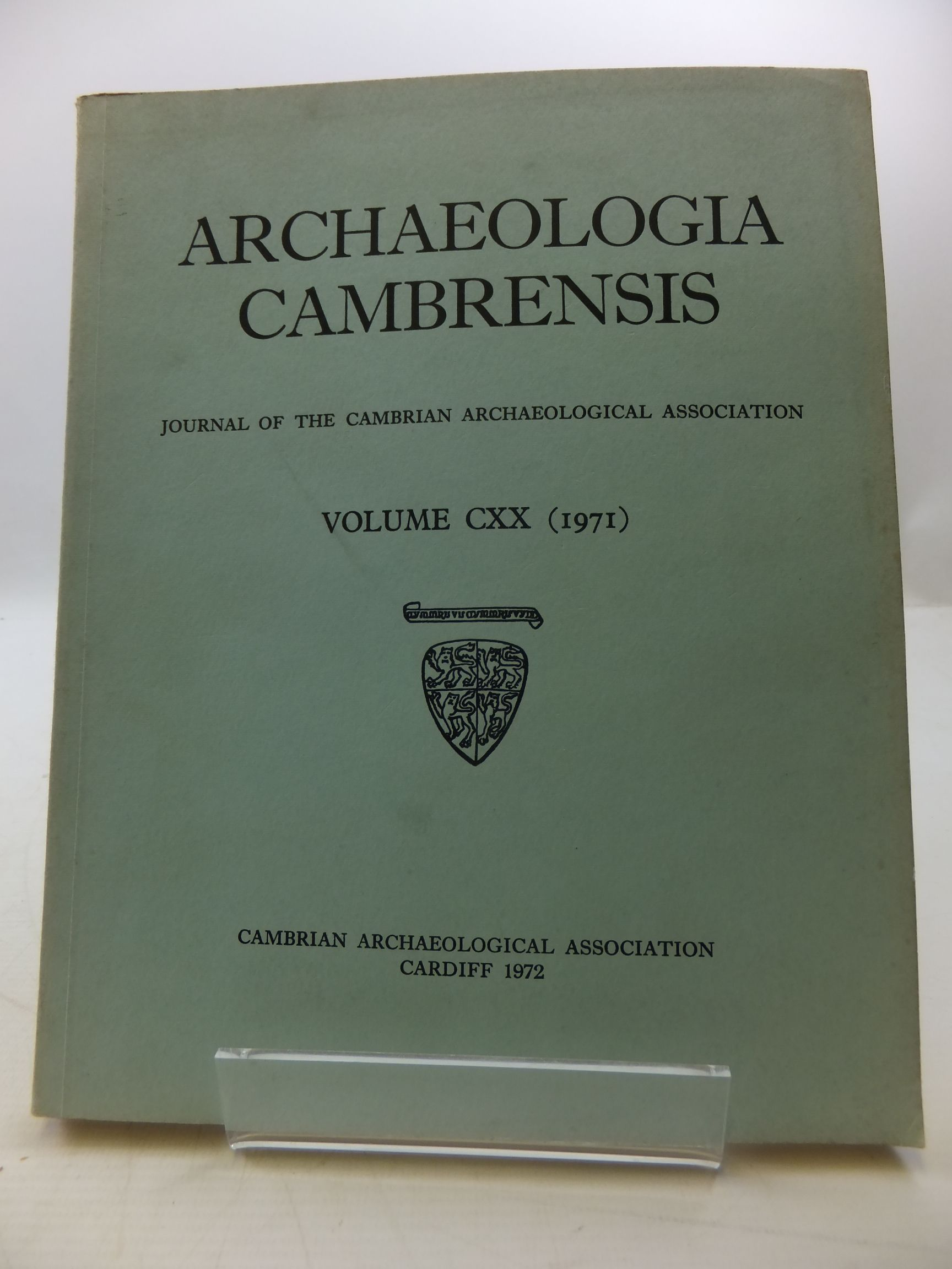 Photo of ARCHAEOLOGIA CAMBRENSIS VOL CXX published by Cambrian Archaeological Association (STOCK CODE: 2110472)  for sale by Stella & Rose's Books