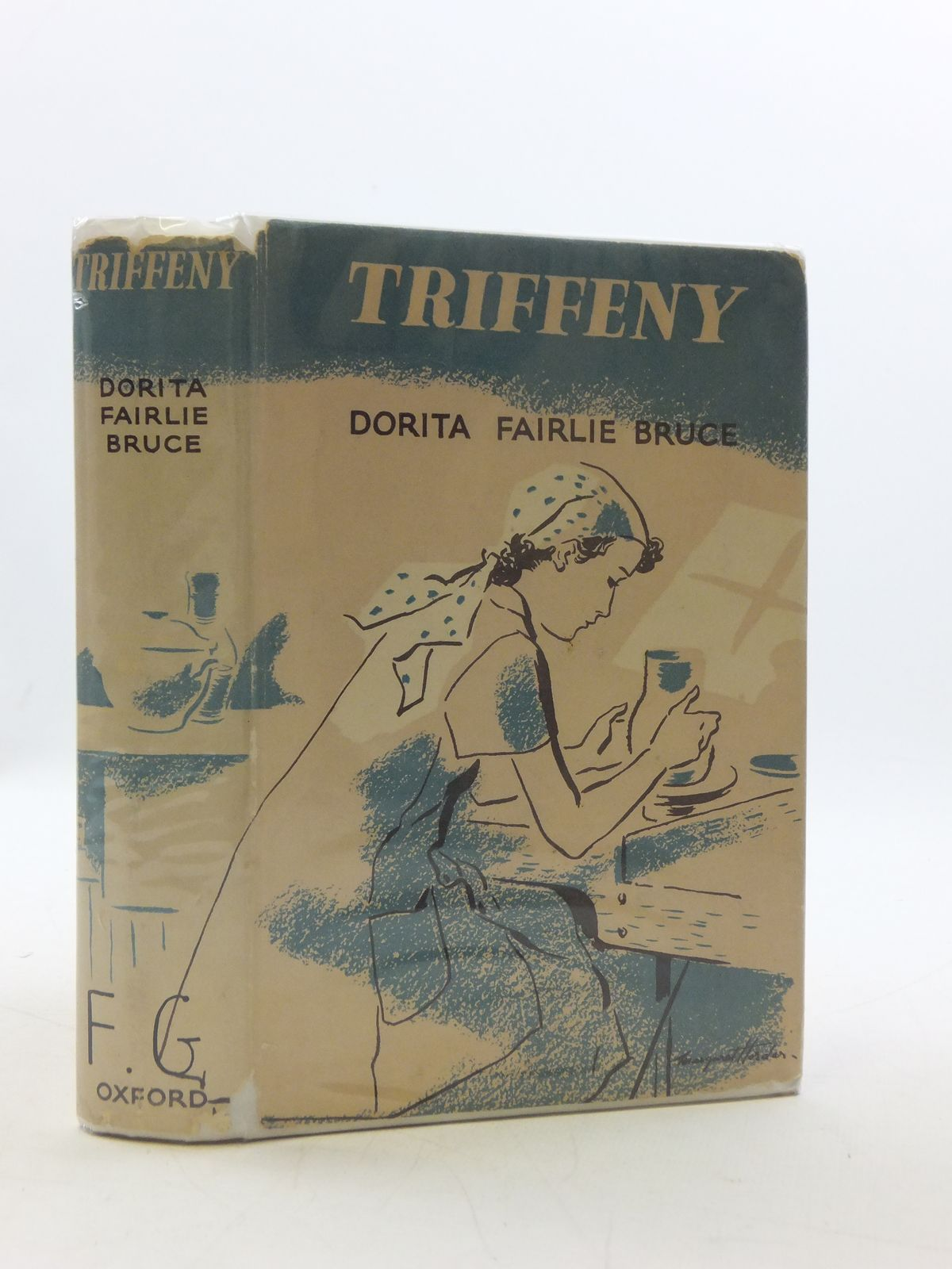 Photo of TRIFFENY written by Bruce, Dorita Fairlie illustrated by Horder, Margaret published by Oxford University Press, Geoffrey Cumberlege (STOCK CODE: 2110624)  for sale by Stella & Rose's Books