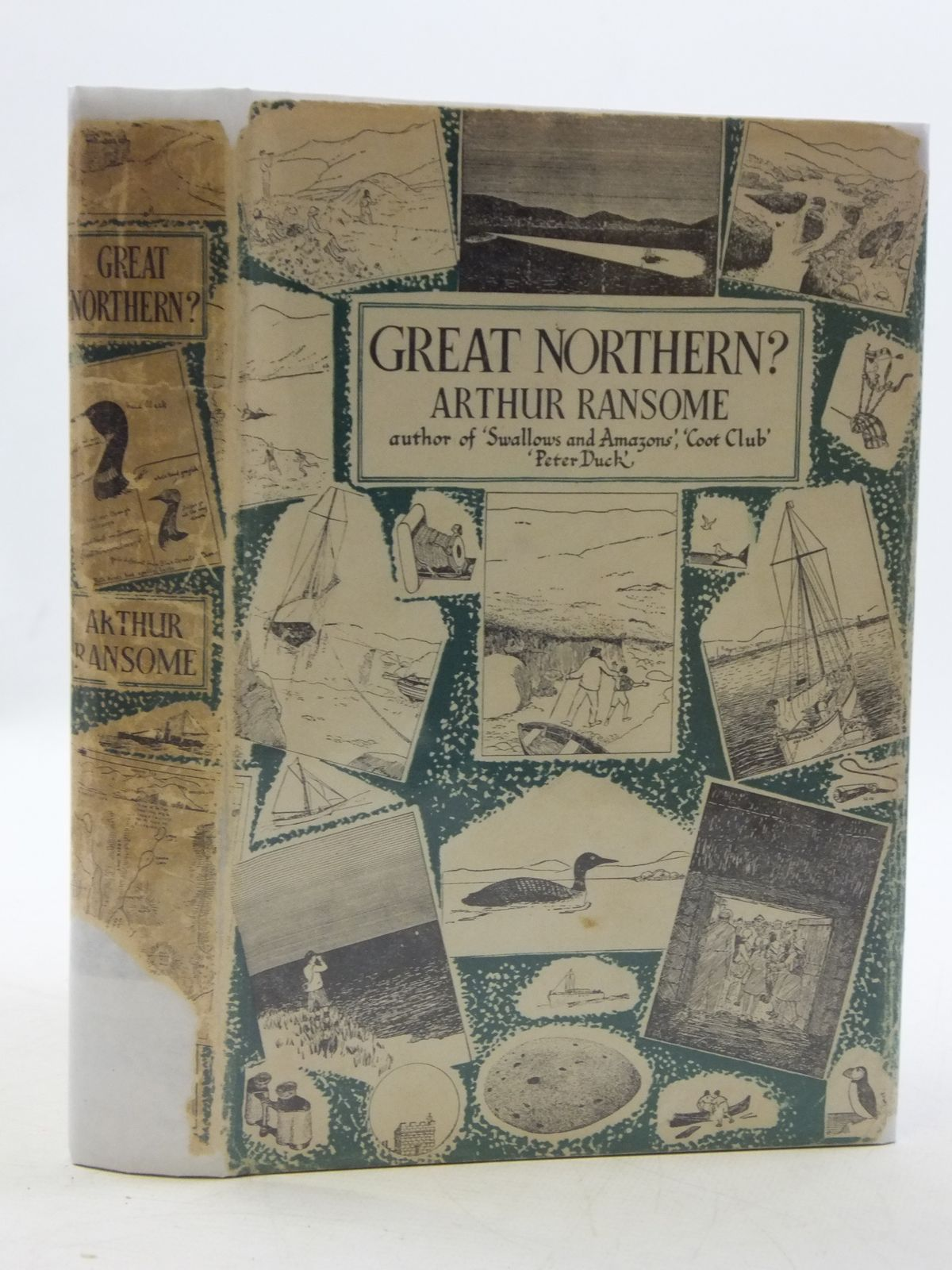 Photo of GREAT NORTHERN? written by Ransome, Arthur illustrated by Ransome, Arthur published by Jonathan Cape (STOCK CODE: 2110626)  for sale by Stella & Rose's Books