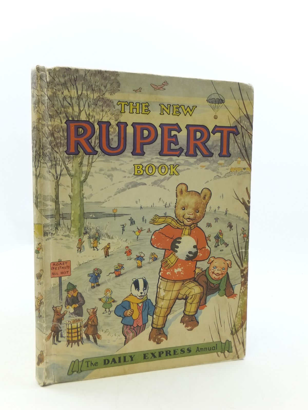 Photo of RUPERT ANNUAL 1951 - THE NEW RUPERT BOOK written by Bestall, Alfred illustrated by Bestall, Alfred published by Daily Express (STOCK CODE: 2110632)  for sale by Stella & Rose's Books