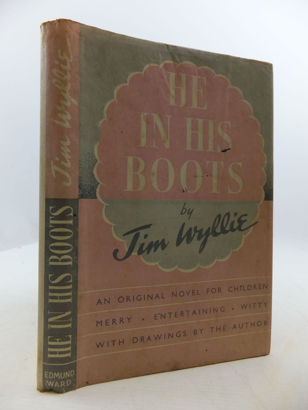 Photo of HE IN HIS BOOTS written by Wyllie, Jim illustrated by Wyllie, Jim published by Edmund Ward (STOCK CODE: 2111050)  for sale by Stella & Rose's Books