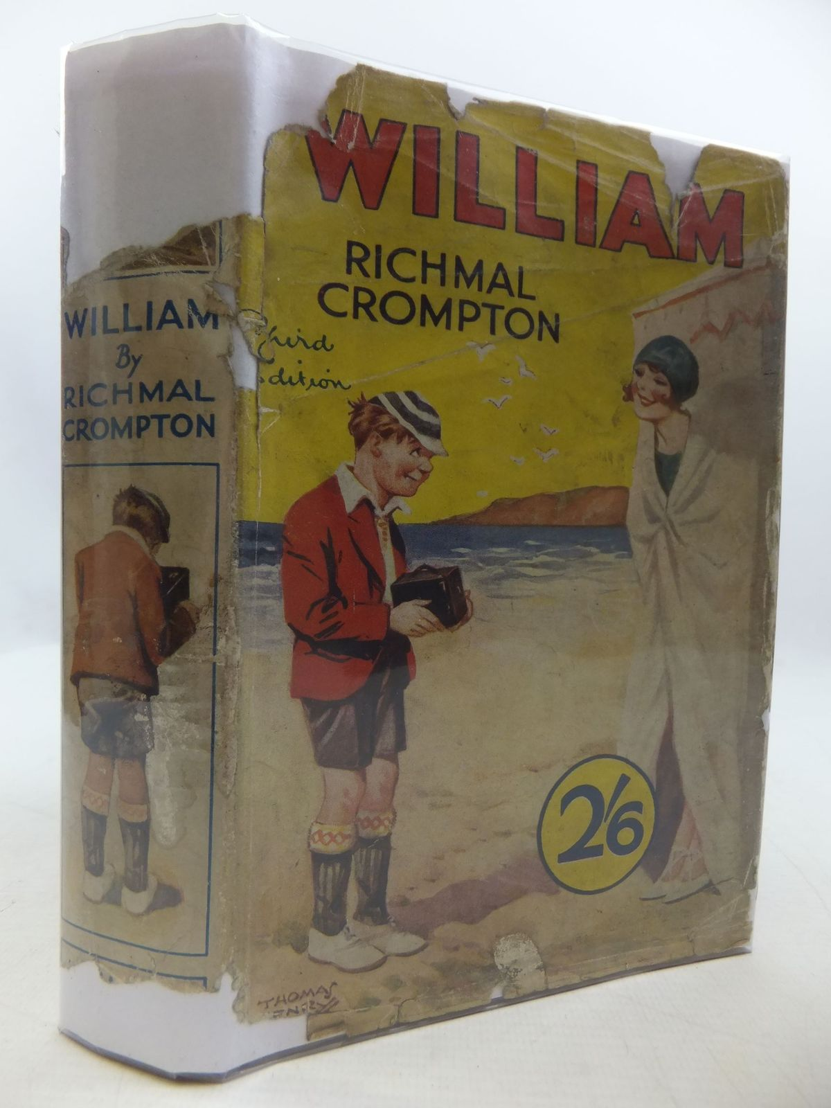 Photo of WILLIAM written by Crompton, Richmal illustrated by Henry, Thomas published by George Newnes Limited (STOCK CODE: 2111106)  for sale by Stella & Rose's Books