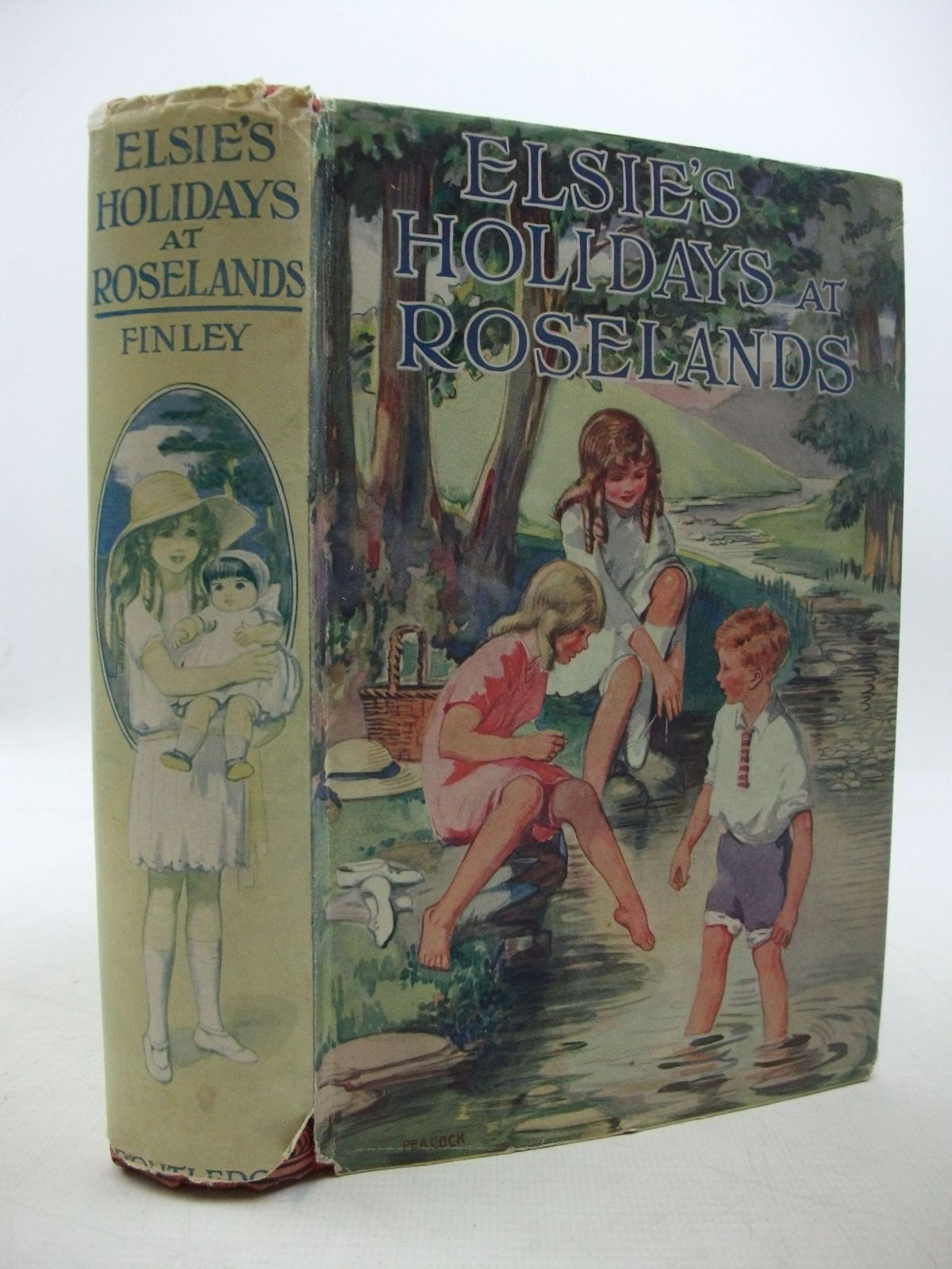Photo of ELSIE'S HOLIDAYS AT ROSELANDS written by Finley, Martha published by George Routledge & Sons Ltd. (STOCK CODE: 2111409)  for sale by Stella & Rose's Books