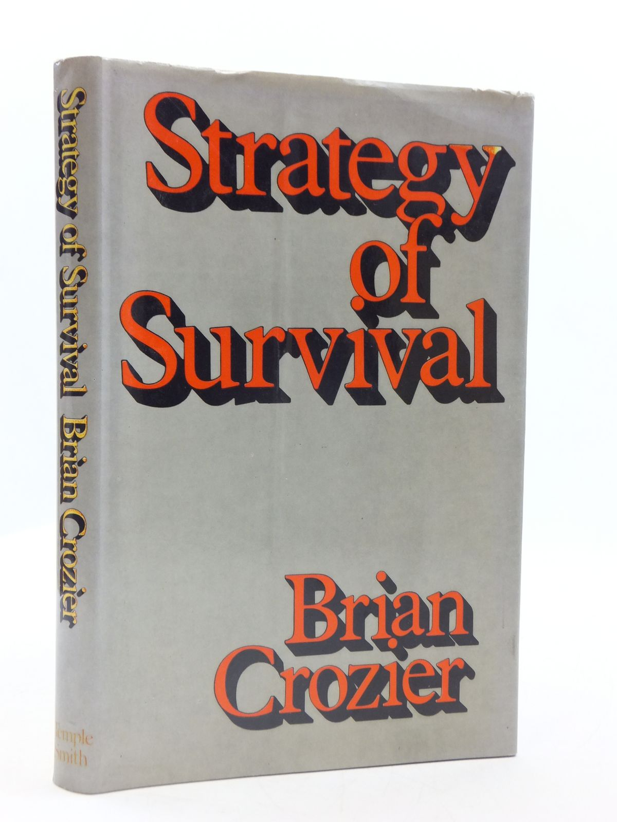Photo of STRATEGY OF SURVIVAL written by Crozier, Brian published by Temple Smith (STOCK CODE: 2111706)  for sale by Stella & Rose's Books