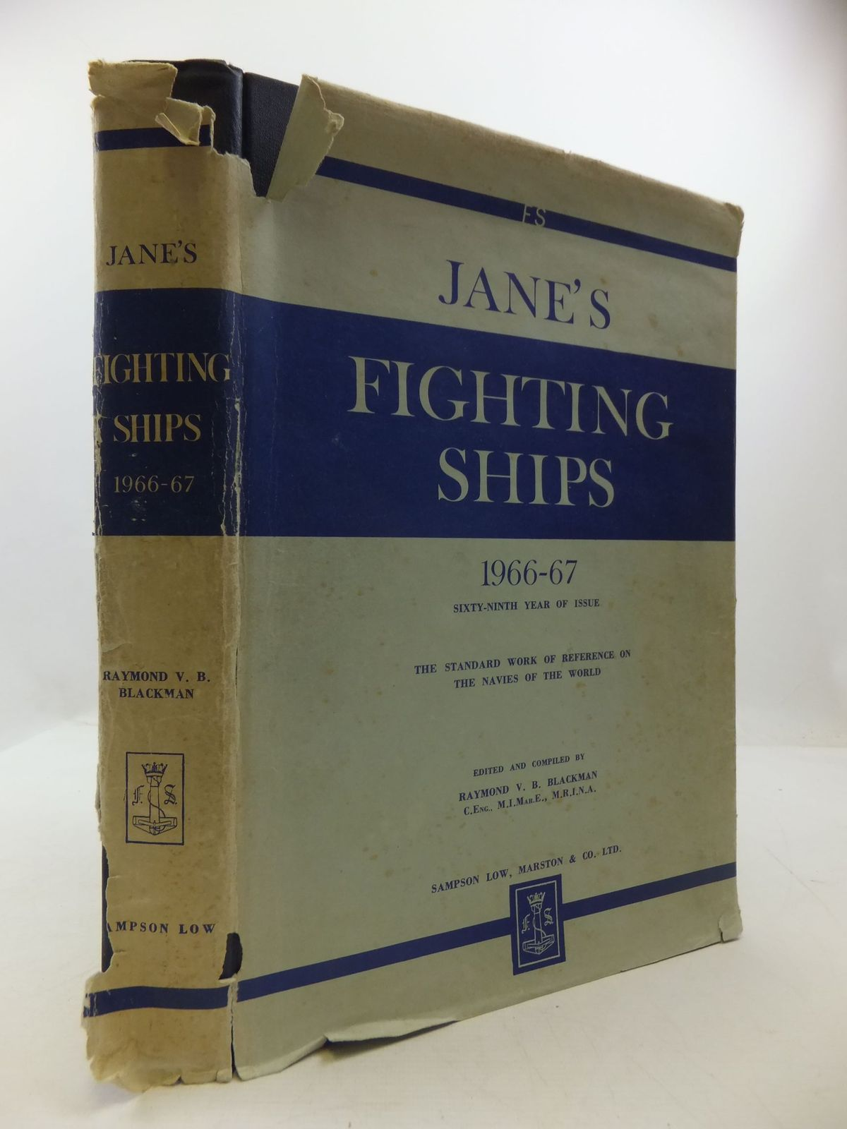 Photo of JANE'S FIGHTING SHIPS 1966-67 written by Blackman, Raymond V.B. published by Sampson Low, Marston & Co. Ltd. (STOCK CODE: 2111739)  for sale by Stella & Rose's Books