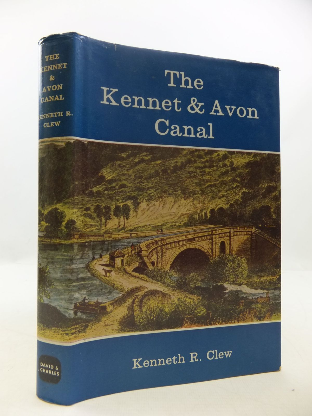 Photo of THE KENNET & AVON CANAL written by Clew, Kenneth R. published by David & Charles (STOCK CODE: 2111923)  for sale by Stella & Rose's Books