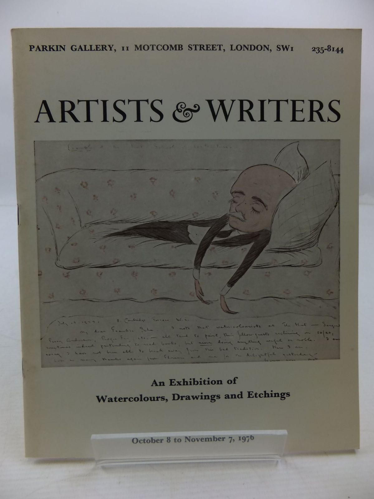 Photo of ARTISTS & WRITERS AN EXHIBITION OF WATERCOLOURS, DRAWINGS AND ETCHINGS published by The Ranelagh Press (STOCK CODE: 2111972)  for sale by Stella & Rose's Books