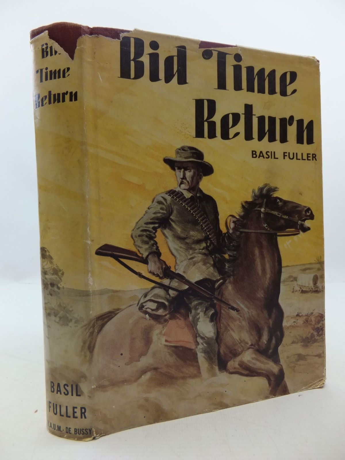 Photo of BID TIME RETURN written by Fuller, Basil published by J.H. De Bussy (STOCK CODE: 2111995)  for sale by Stella & Rose's Books