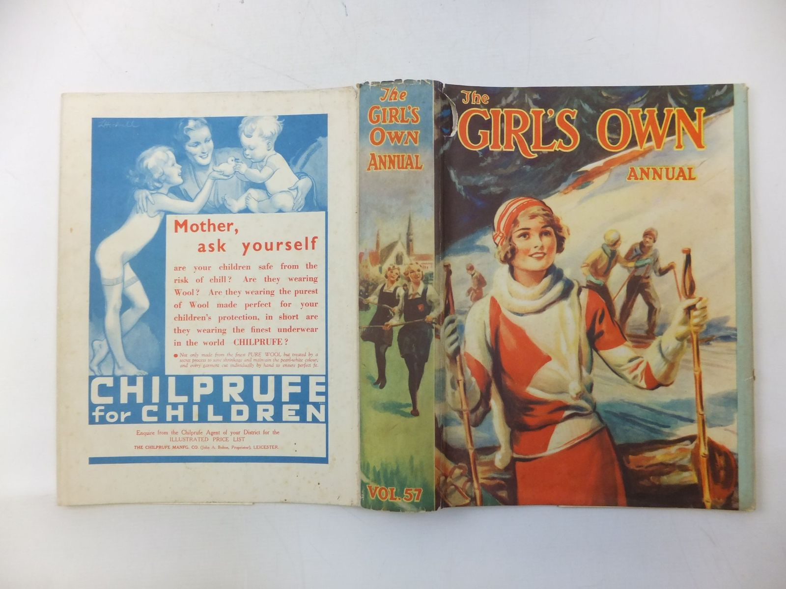 Photo of THE GIRL'S OWN ANNUAL - VOLUME 57 written by Spratt, Gladys M.