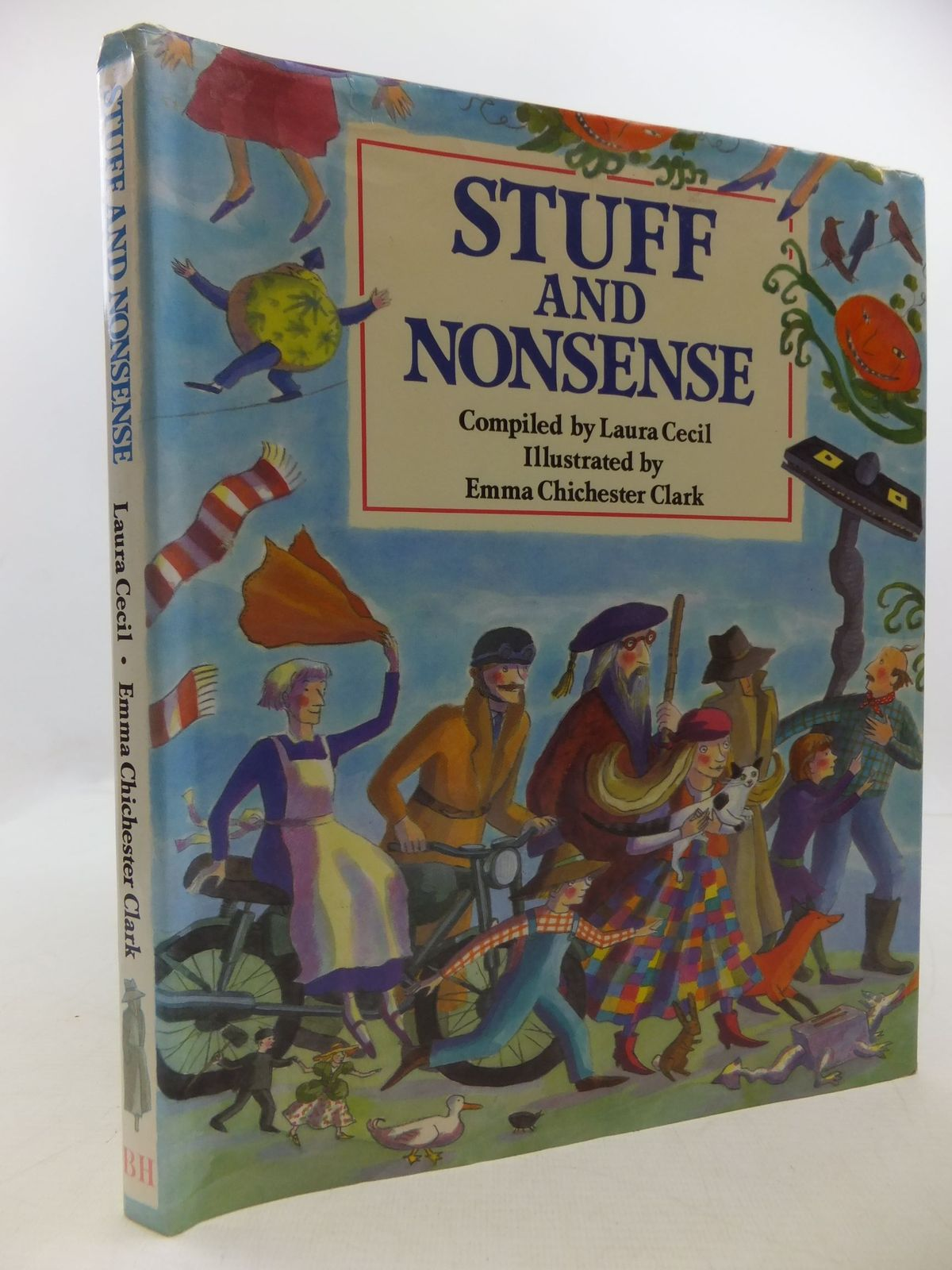 Photo of STUFF AND NONSENSE written by Cecil, Laura illustrated by Clark, Emma Chichester published by The Bodley Head (STOCK CODE: 2112374)  for sale by Stella & Rose's Books