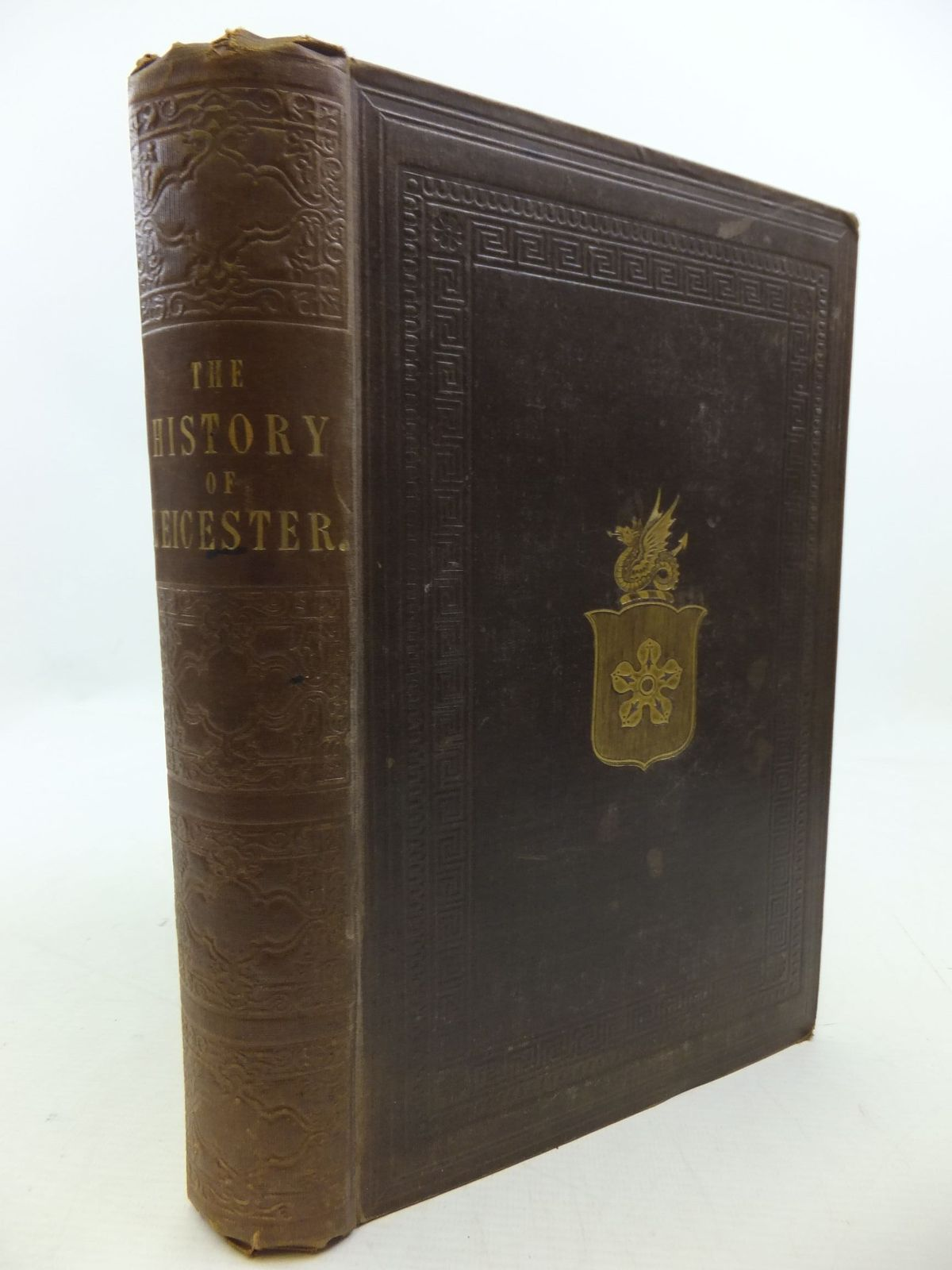 Photo of THE HISTORY OF LEICESTERSHIRE, FROM THE TIME OF THE ROMANS TO THE END OF THE SEVENTEENTH CENTURY written by Thomson, James published by J.S. Crossley, Thompson And Son (STOCK CODE: 2112408)  for sale by Stella & Rose's Books