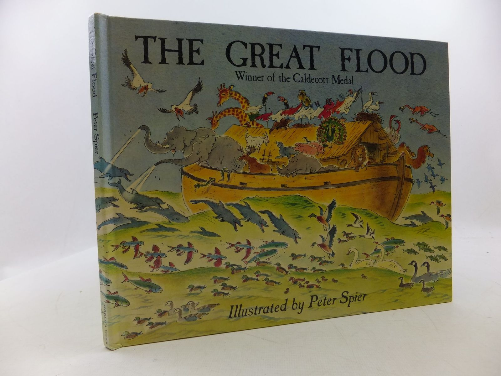 Photo of THE GREAT FLOOD written by Spier, Peter illustrated by Spier, Peter published by World's Work Ltd. (STOCK CODE: 2112582)  for sale by Stella & Rose's Books