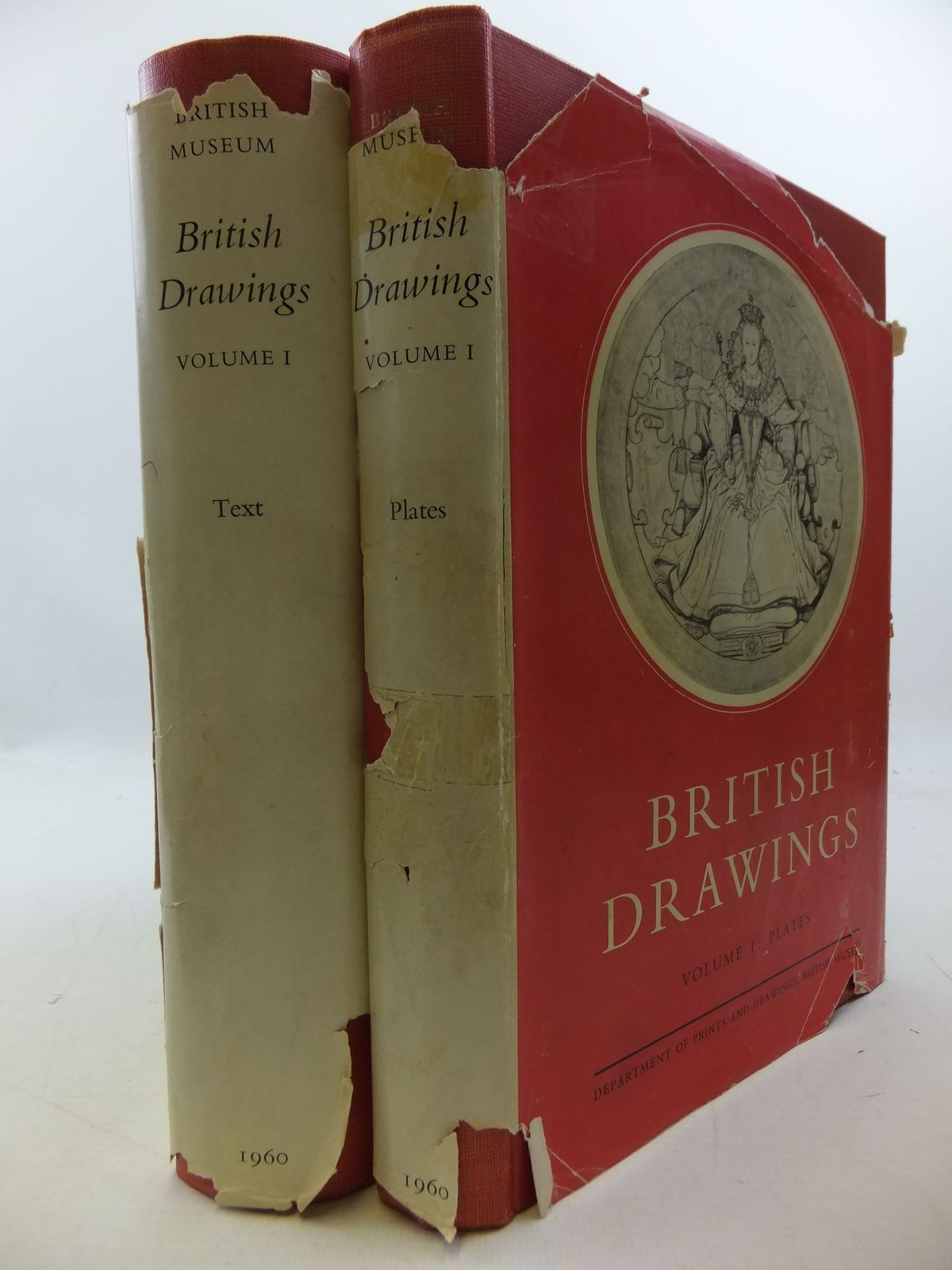 Photo of CATALOGUE OF BRITISH DRAWINGS VOLUME ONE: XVI &amp; XVII CENTURIES (2 VOLUMES) written by Croft-Murray, Edward<br />Hulton, Paul<br />White, Christopher published by The Trustess of the British Museum (STOCK CODE: 2112712)  for sale by Stella & Rose's Books