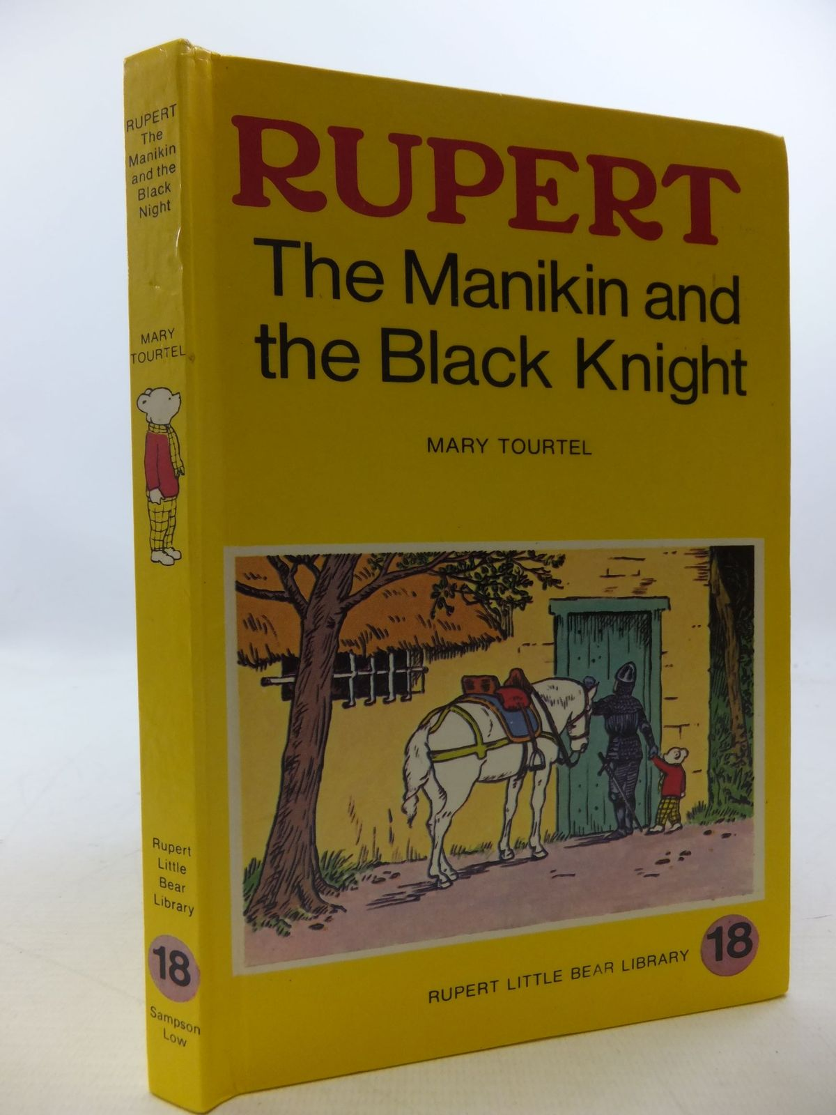 Photo of RUPERT, THE MANIKIN AND THE BLACK KNIGHT - RUPERT LITTLE BEAR LIBRARY No. 18 (WOOLWORTH)- Stock Number: 2112754
