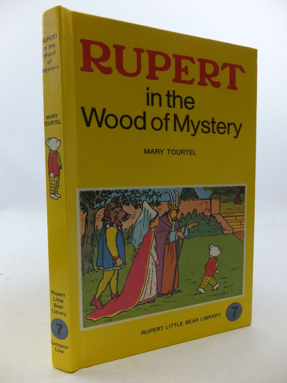 Photo of RUPERT IN THE WOOD OF MYSTERY - RUPERT LITTLE BEAR LIBRARY No. 7 (WOOLWORTH)- Stock Number: 2112764