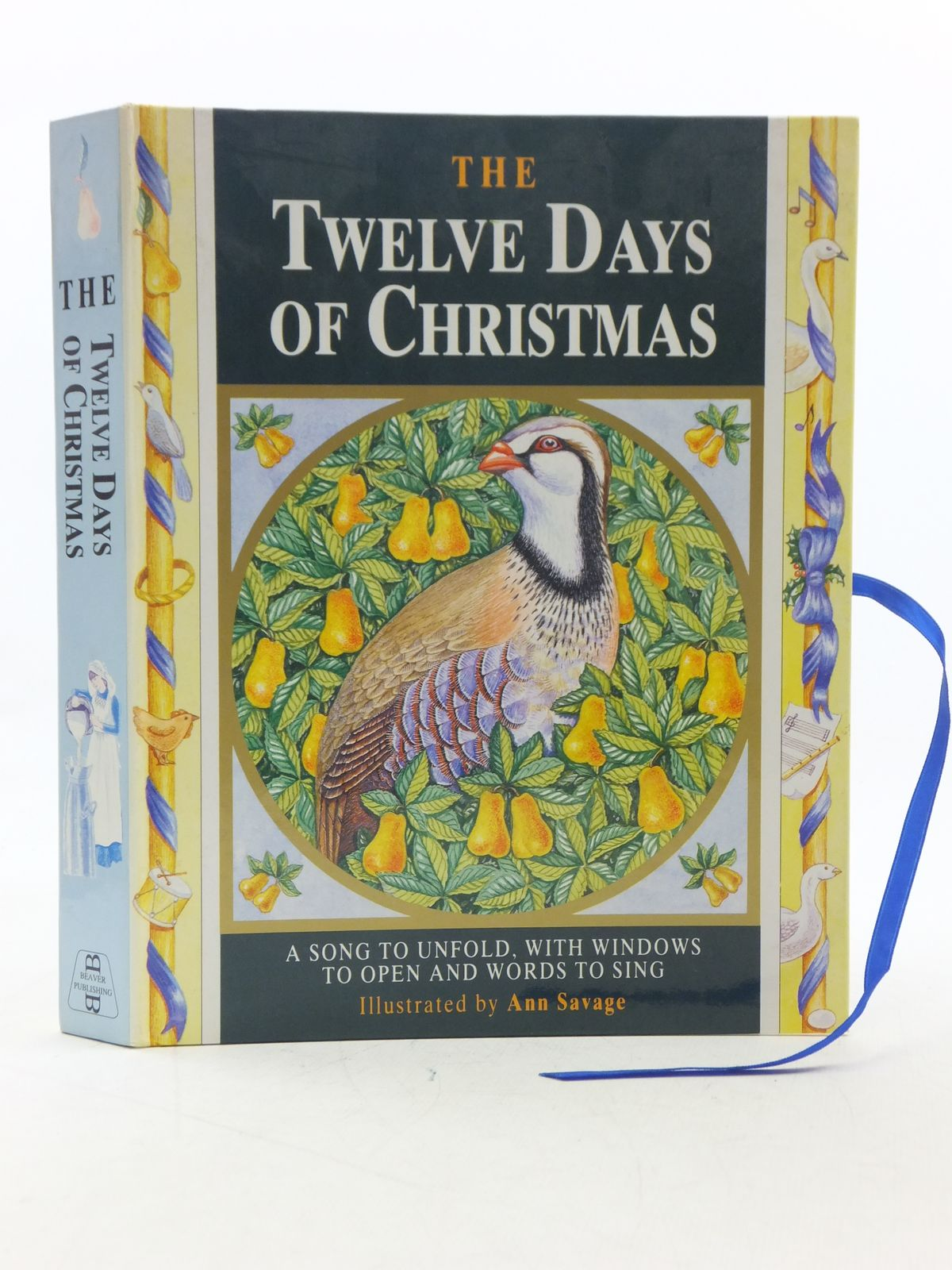 Photo of THE TWELVE DAYS OF CHRISTMAS illustrated by Savage, Ann published by Beaver Publishing Limited (STOCK CODE: 2112867)  for sale by Stella & Rose's Books