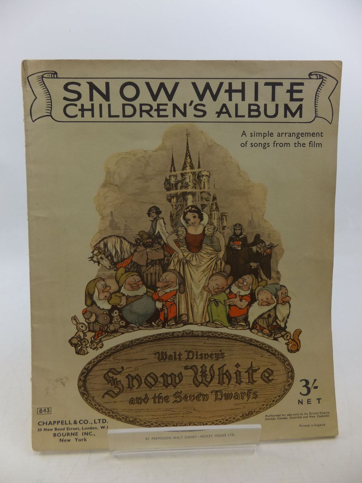 Photo of SNOW WHITE CHILDREN'S ALBUM- Stock Number: 2112926