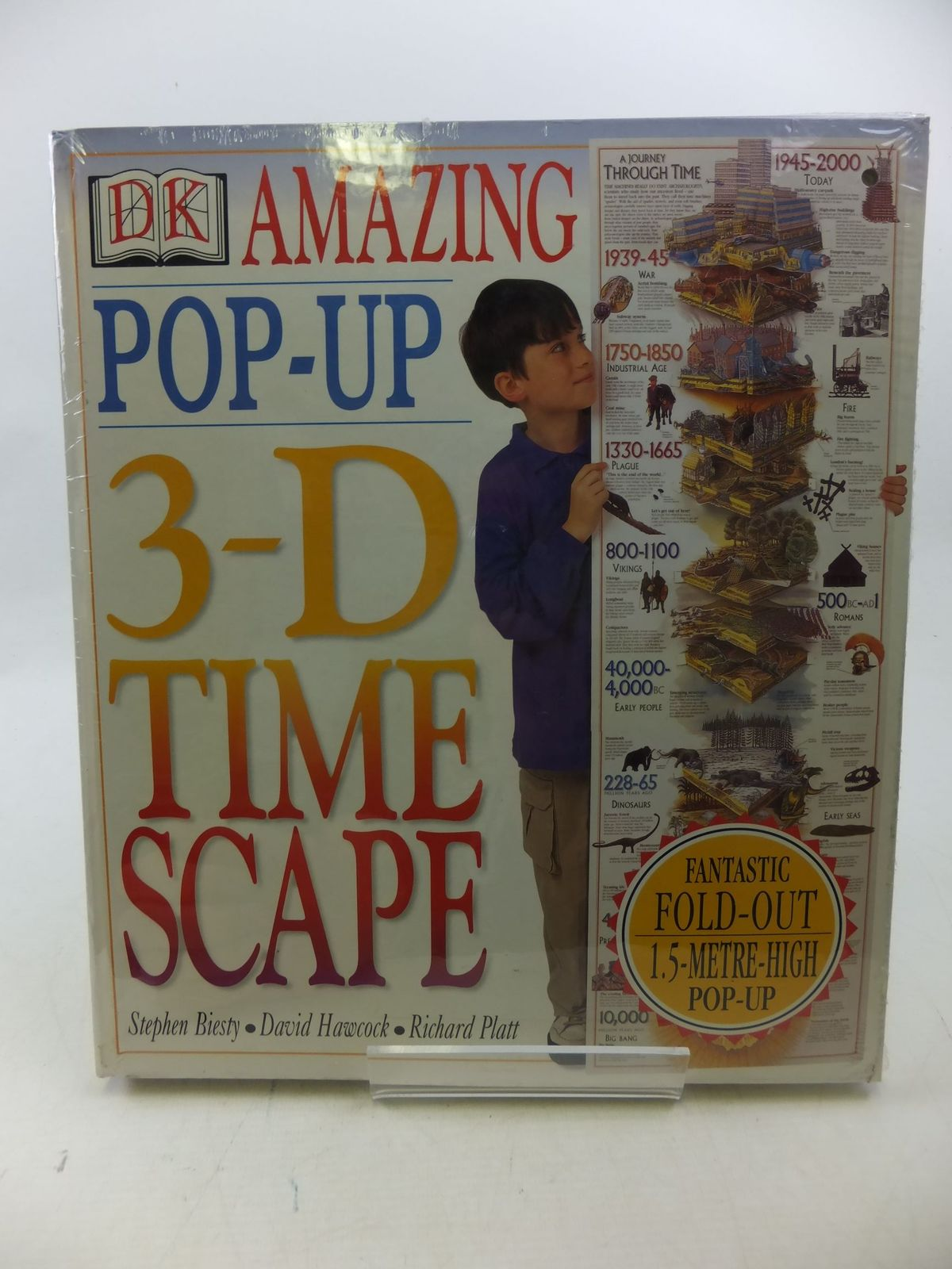 Photo of THE AMAZING POP-UP 3-D TIME SCAPE- Stock Number: 2112944