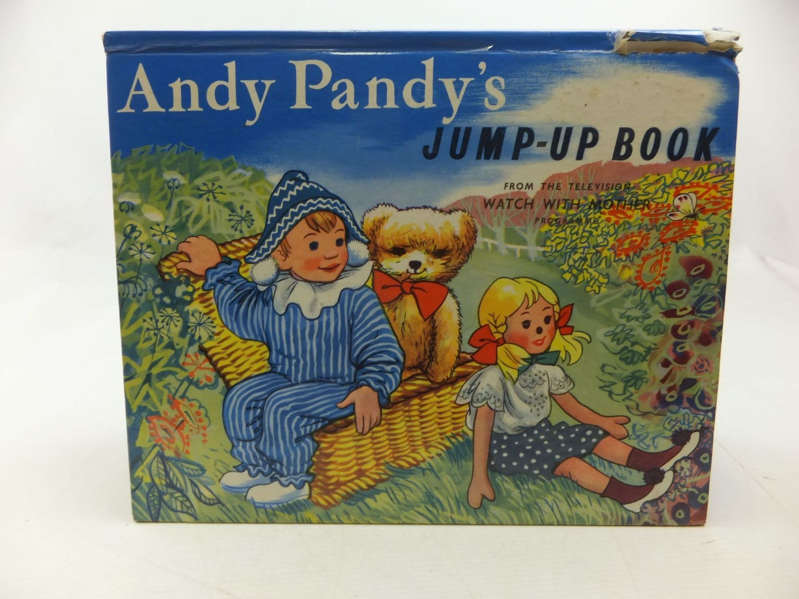 Photo of ANDY PANDY'S JUMP-UP BOOK written by Bird, Maria illustrated by Wright, Matvyn published by Purnell (STOCK CODE: 2112969)  for sale by Stella & Rose's Books