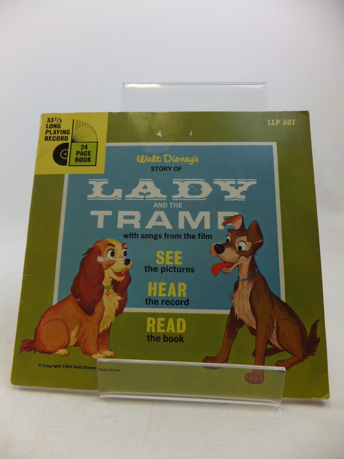 Photo of WALT DISNEY'S STORY OF LADY AND THE TRAMP WITH SONGS FROM THE FILM written by Disney, Walt illustrated by Disney, Walt published by Walt Disney Productions (STOCK CODE: 2113138)  for sale by Stella & Rose's Books
