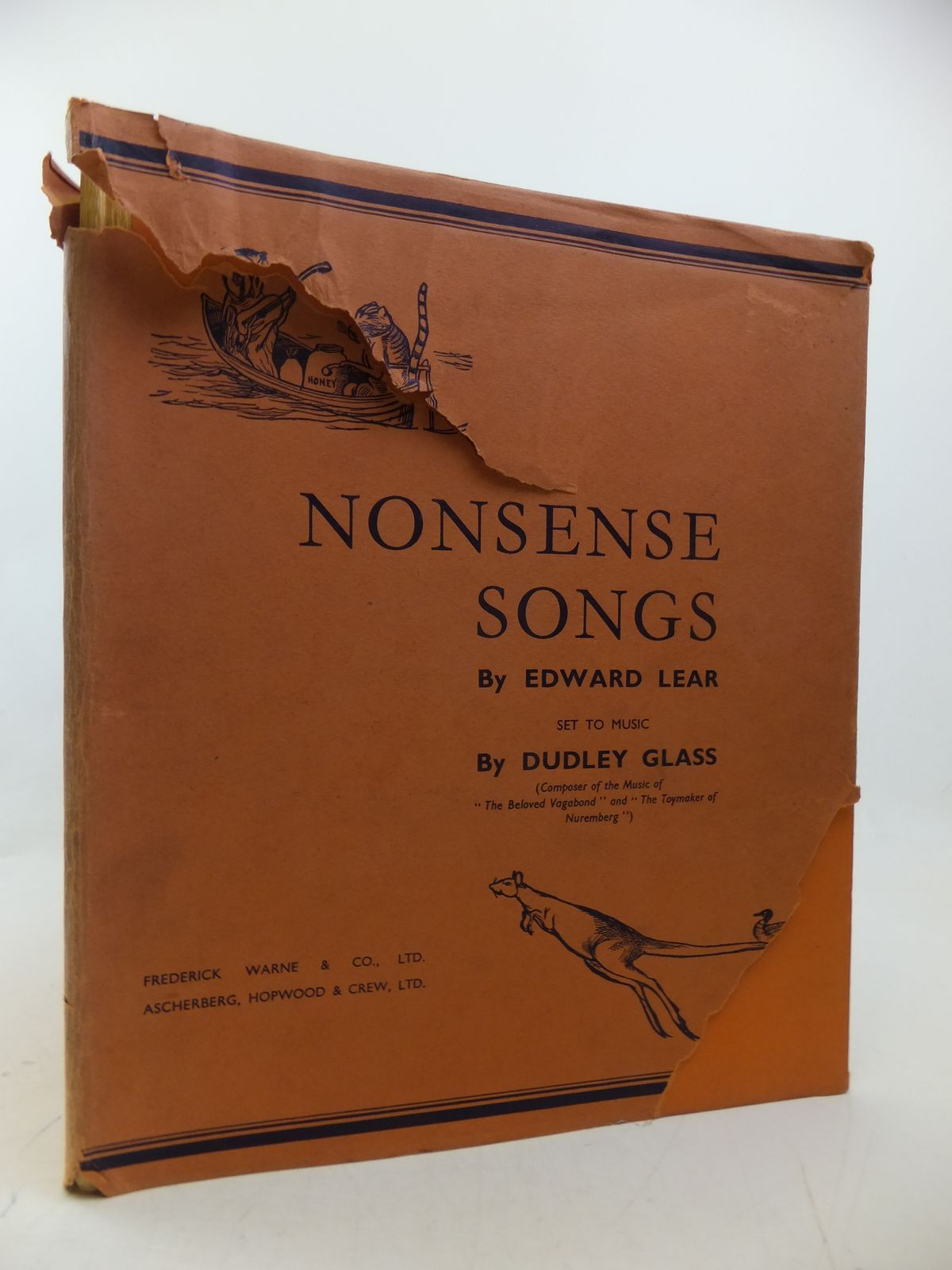 Photo of NONSENSE SONGS written by Lear, Edward Glass, Dudley illustrated by Lear, Edward published by Frederick Warne & Co Ltd. (STOCK CODE: 2113142)  for sale by Stella & Rose's Books