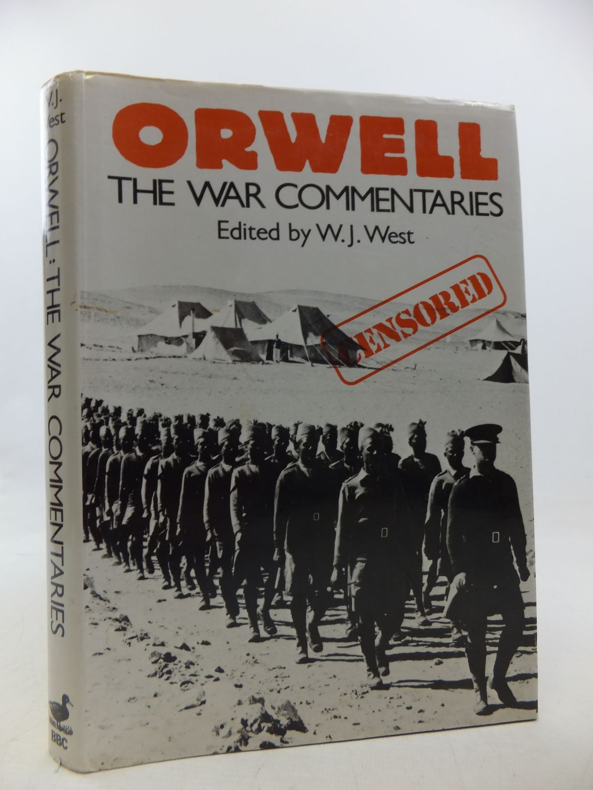 Photo of ORWELL THE WAR COMMENTARIES- Stock Number: 2113167