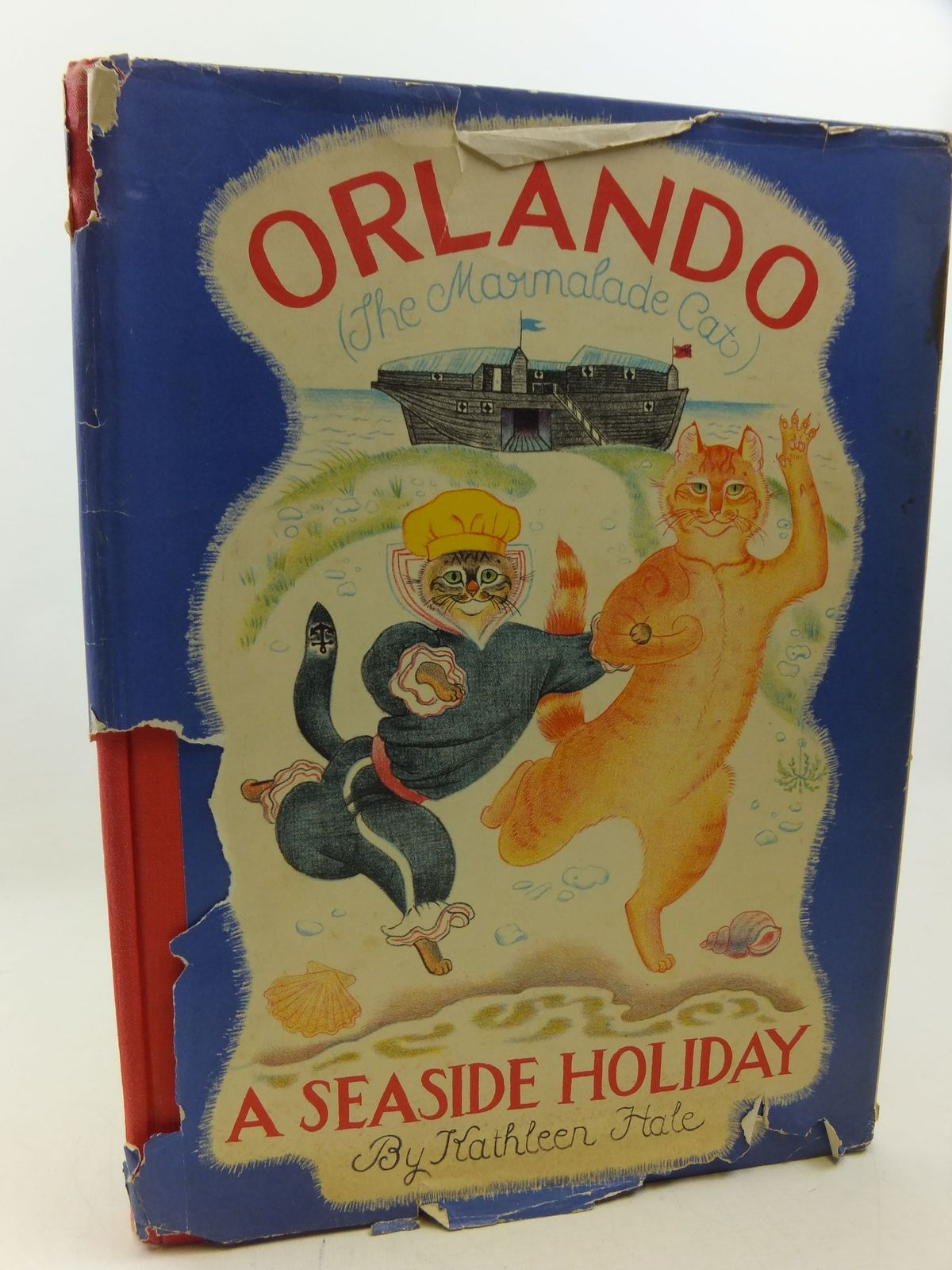 Photo of ORLANDO (THE MARMALADE CAT) A SEASIDE HOLIDAY- Stock Number: 2113326
