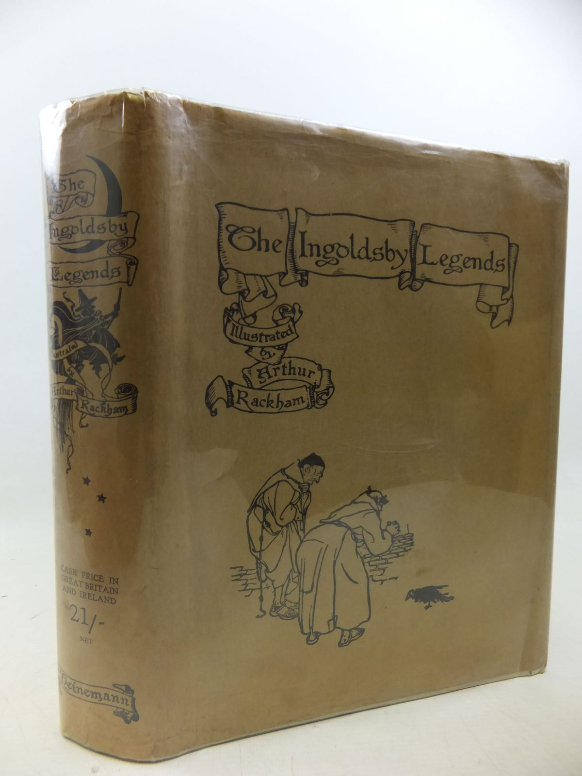 Photo of THE INGOLDSBY LEGENDS written by Barham, R. illustrated by Rackham, Arthur published by William Heinemann (STOCK CODE: 2113415)  for sale by Stella & Rose's Books