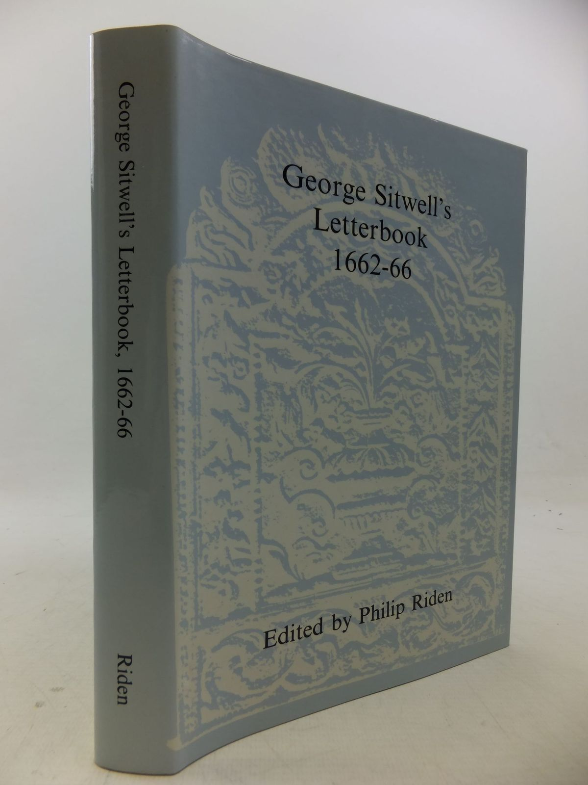 Photo of GEORGE SITWELL'S LETTERBOOK 1662-66 written by Riden, Philip Sitwell, George published by Derbyshire Record Society (STOCK CODE: 2113476)  for sale by Stella & Rose's Books