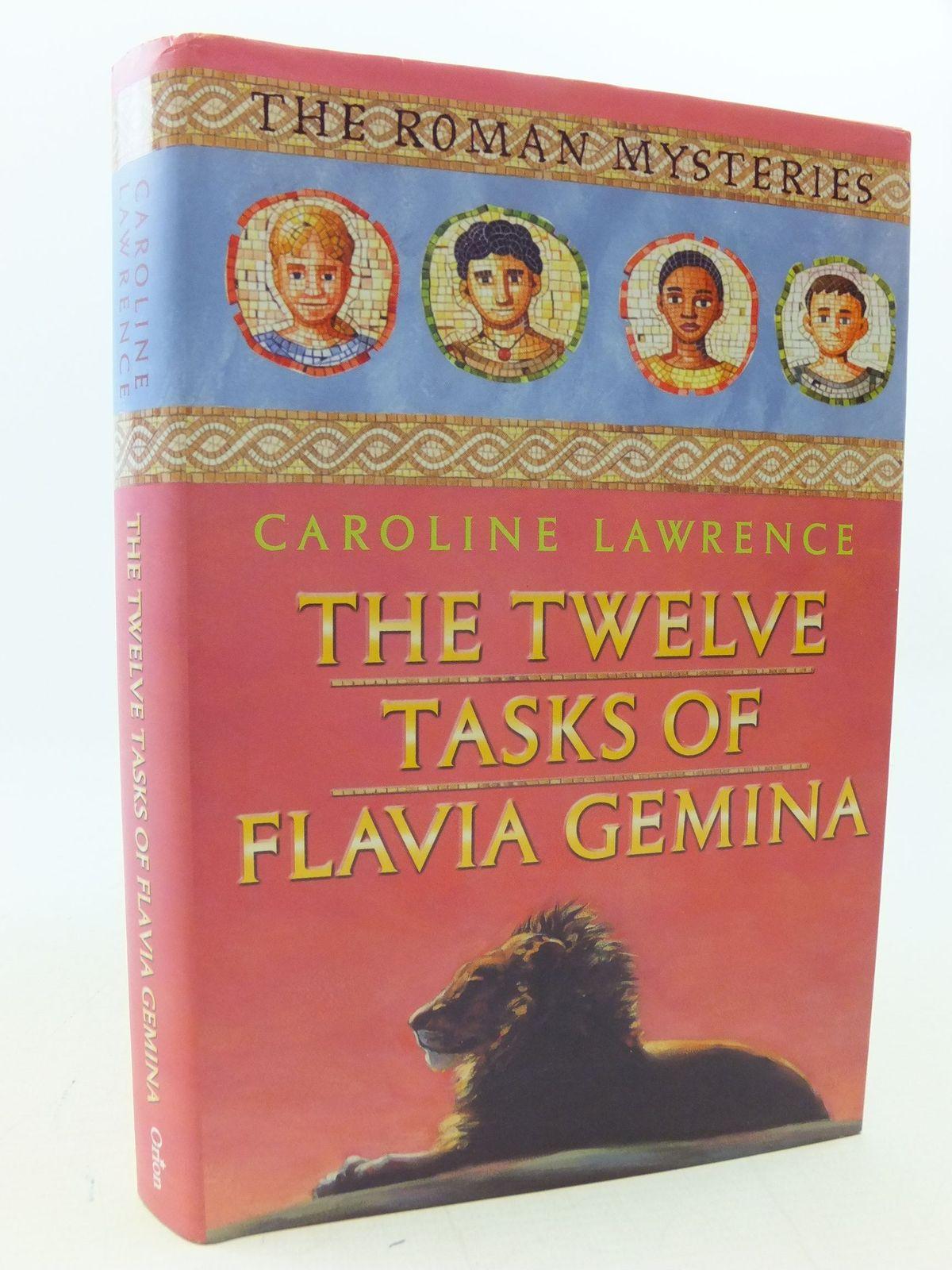 Photo of THE TWELVE TASKS OF FLAVIA GEMINA- Stock Number: 2113593