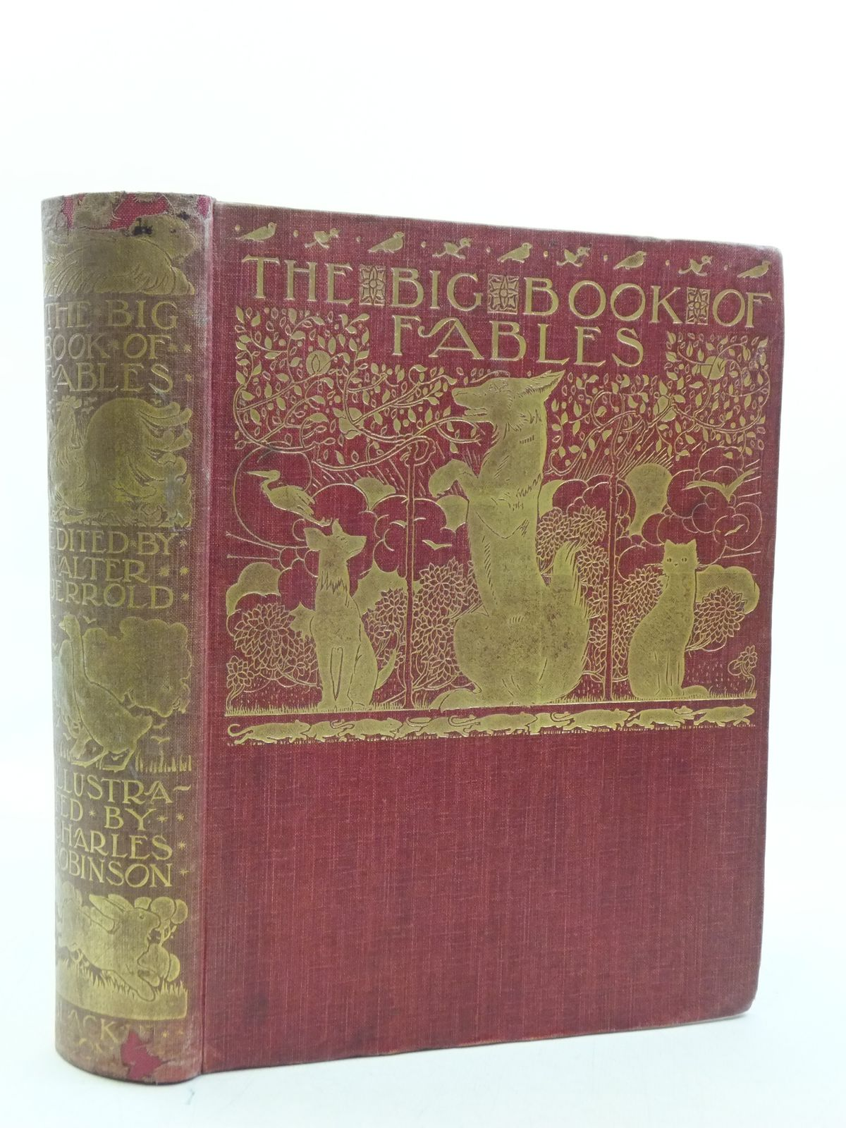 Photo of THE BIG BOOK OF FABLES written by Jerrold, Walter illustrated by Robinson, Charles published by Blackie & Son Ltd. (STOCK CODE: 2113864)  for sale by Stella & Rose's Books