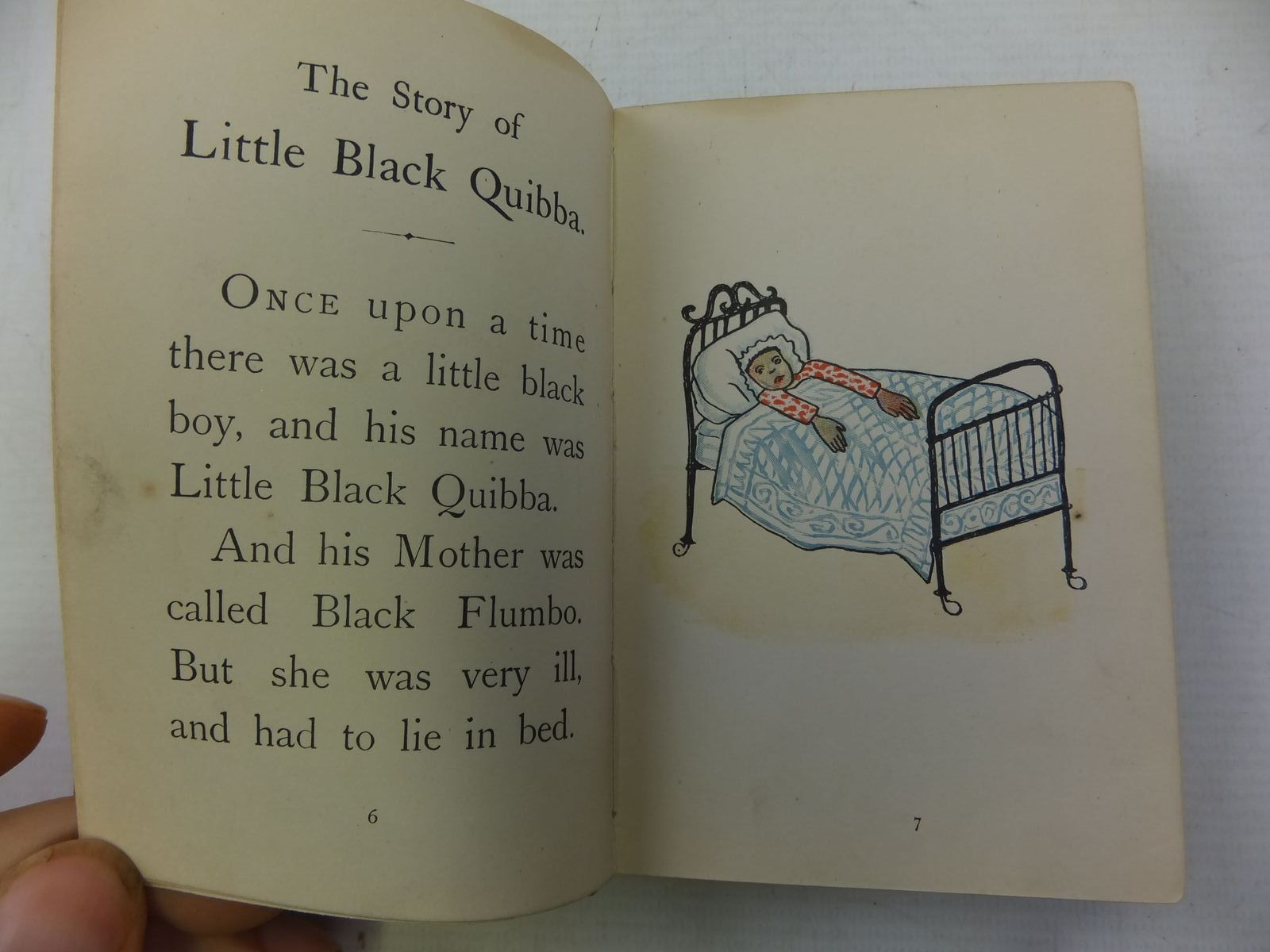 Photo of THE STORY OF LITTLE BLACK QUIBBA written by Bannerman, Helen published by James Nisbet & Co. Ltd. (STOCK CODE: 2113901)  for sale by Stella & Rose's Books