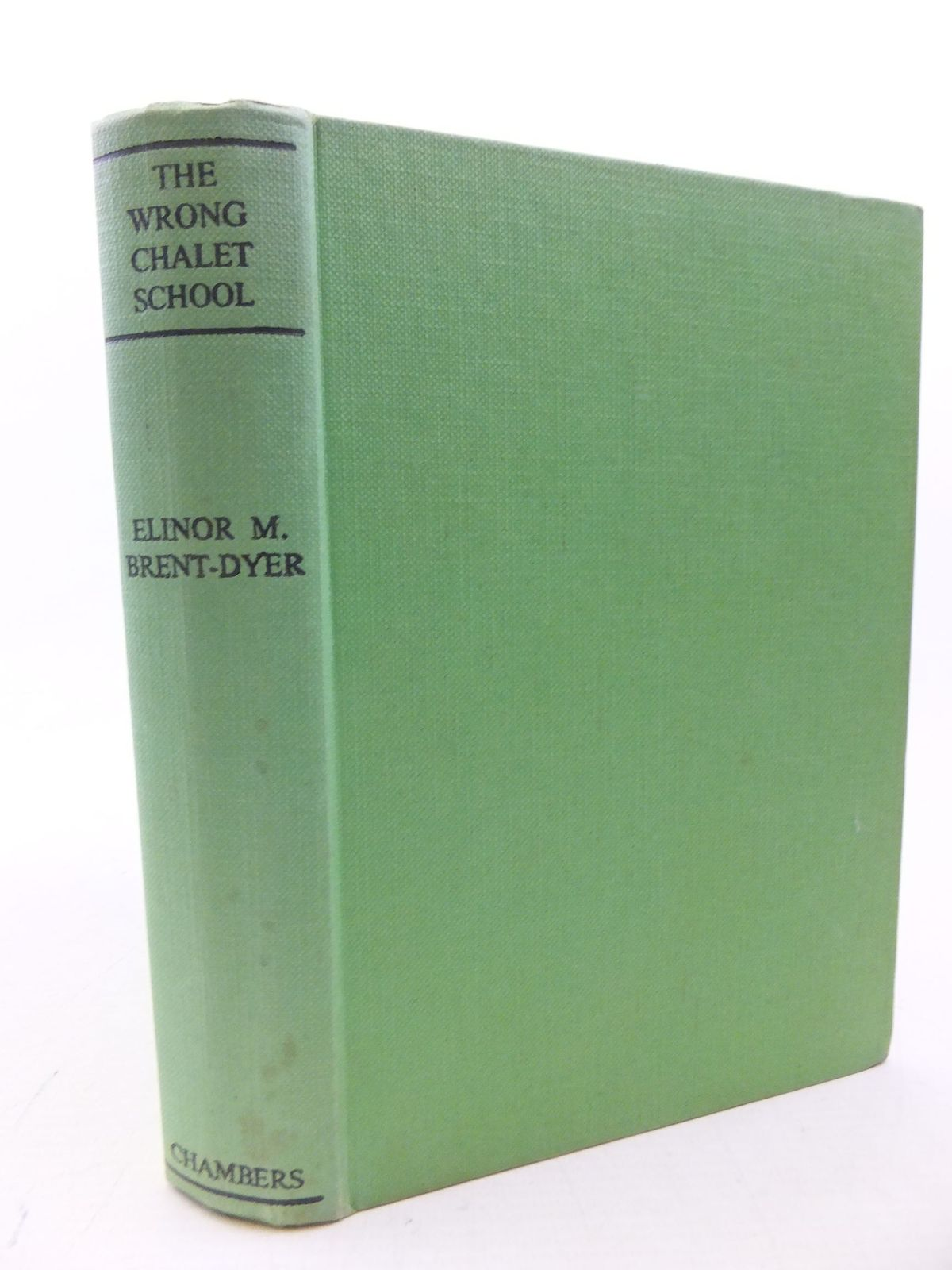 Photo of THE WRONG CHALET SCHOOL written by Brent-Dyer, Elinor M. illustrated by Brisley, Nina K. published by W. & R. Chambers Limited (STOCK CODE: 2113957)  for sale by Stella & Rose's Books